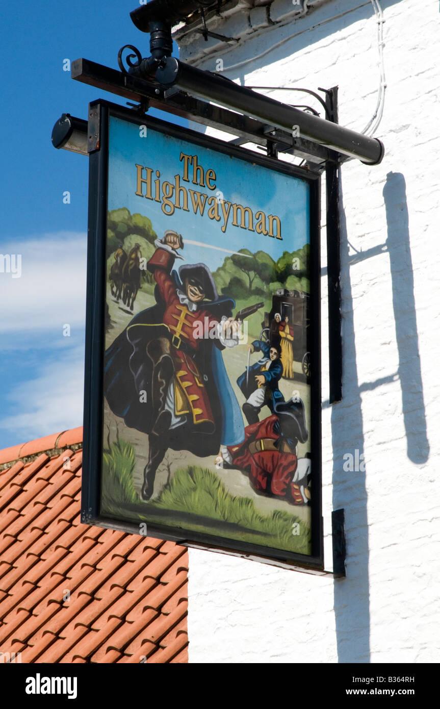 traditional english pub public house boozer drink - Stock Image