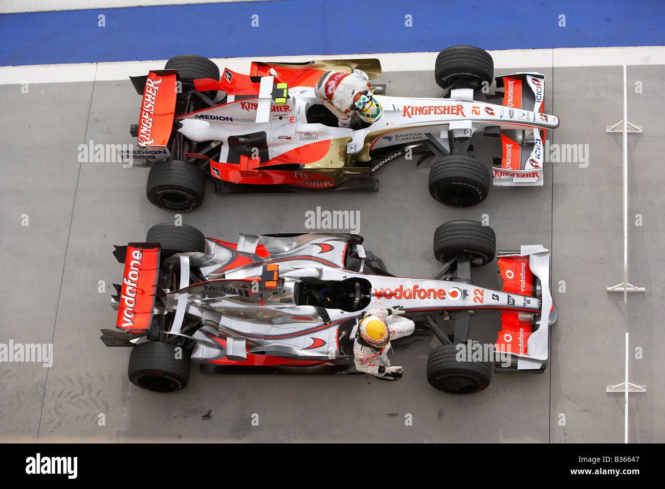 Lewis Hamilton, McLaren and Giancarlo Fisica, Force India exit ...