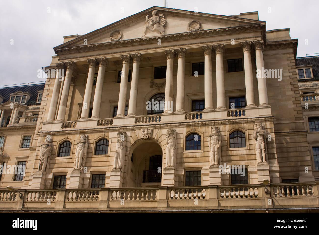 Bank of England, London, UK - Stock Image