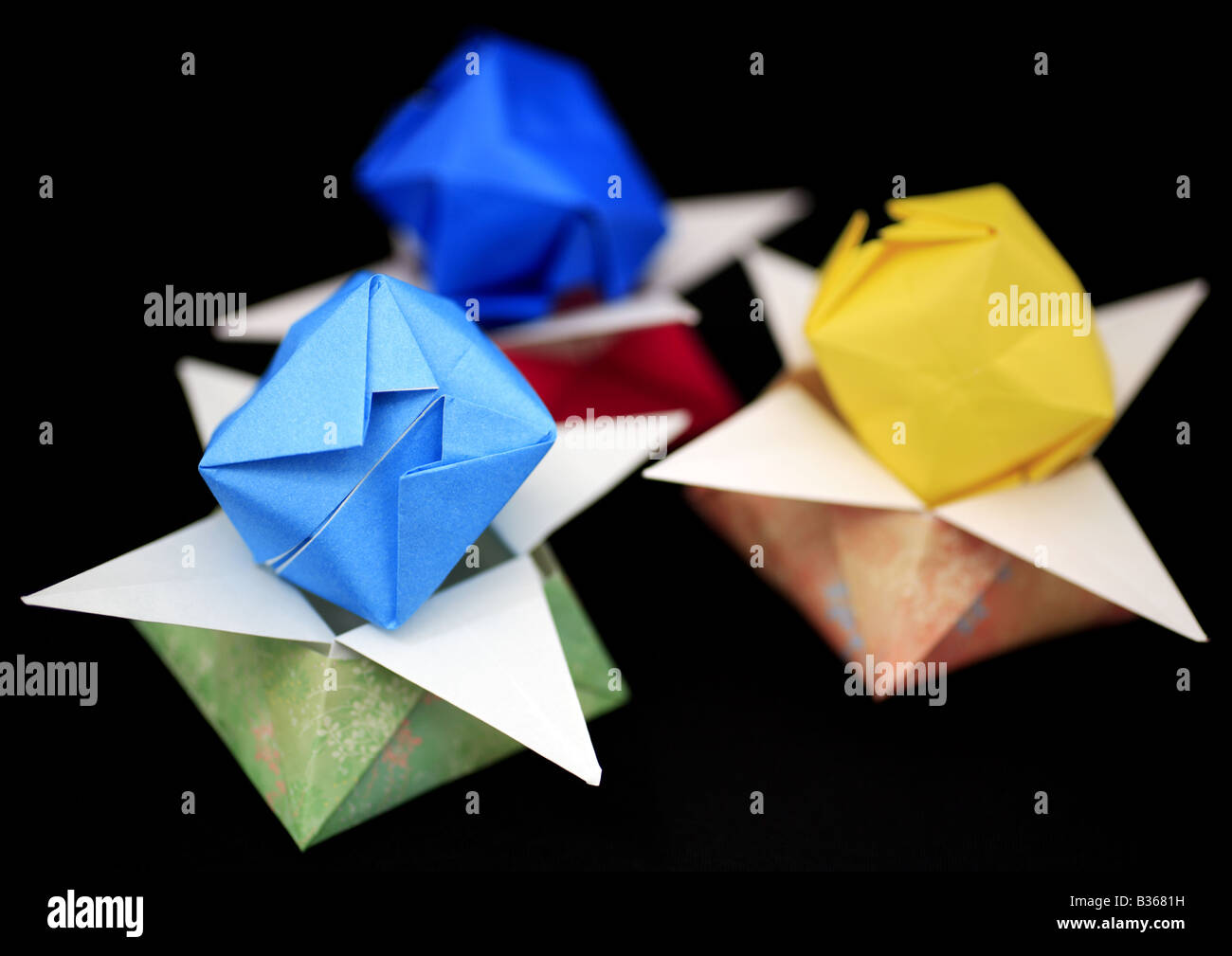 Origami Boxes Stock Photos Origami Boxes Stock Images Alamy