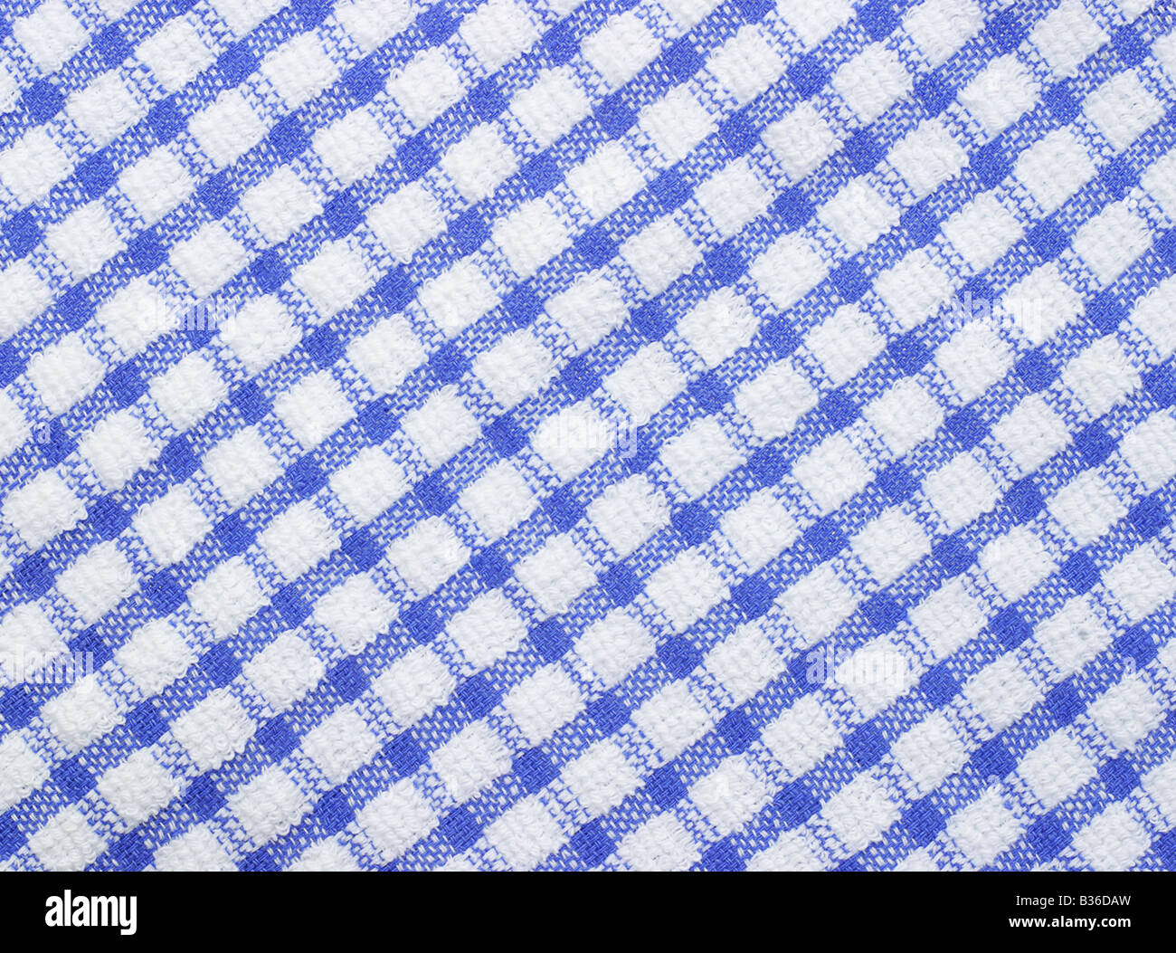 Gingham surface texture for background - Stock Image