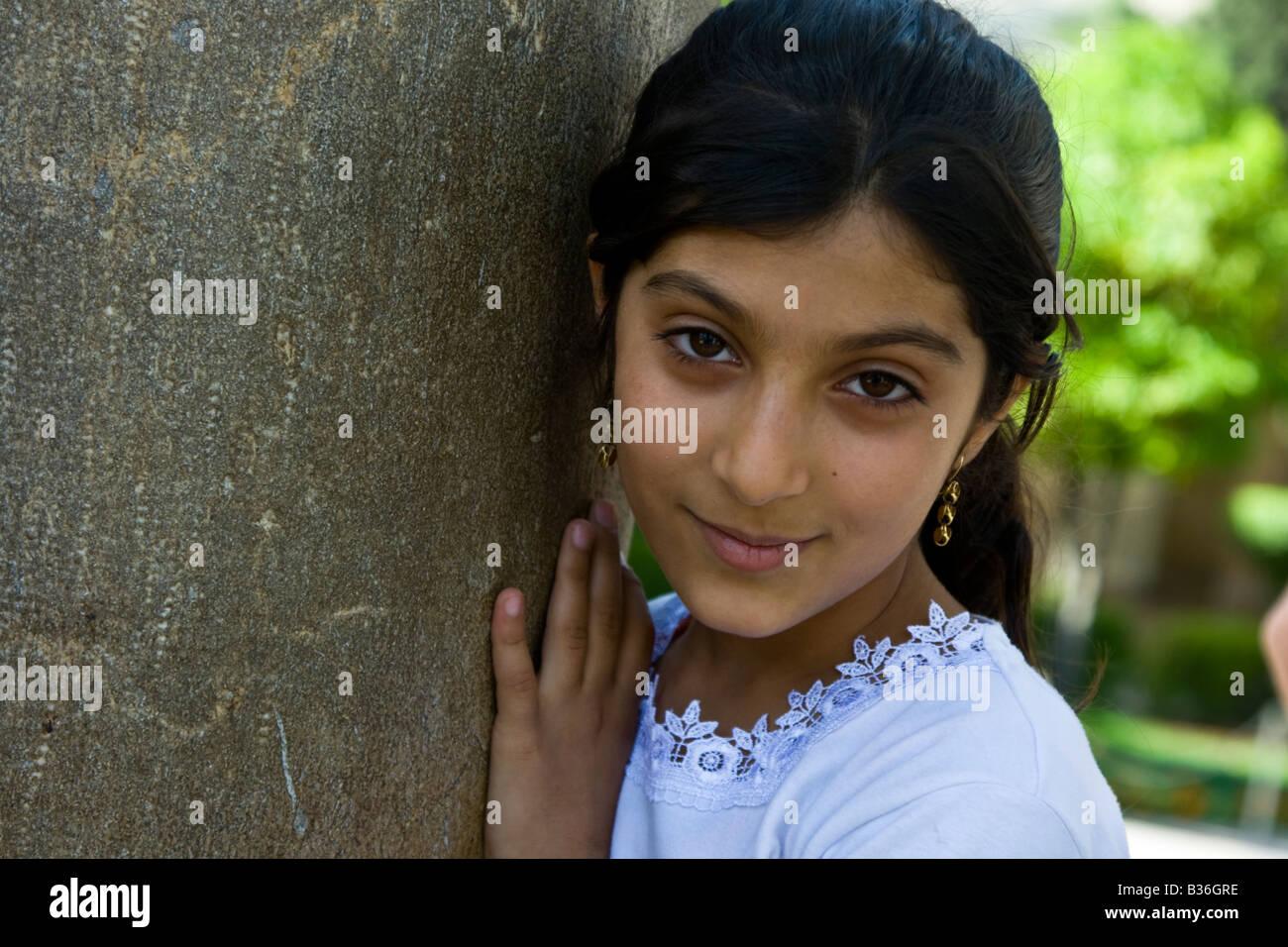 young iranian girl
