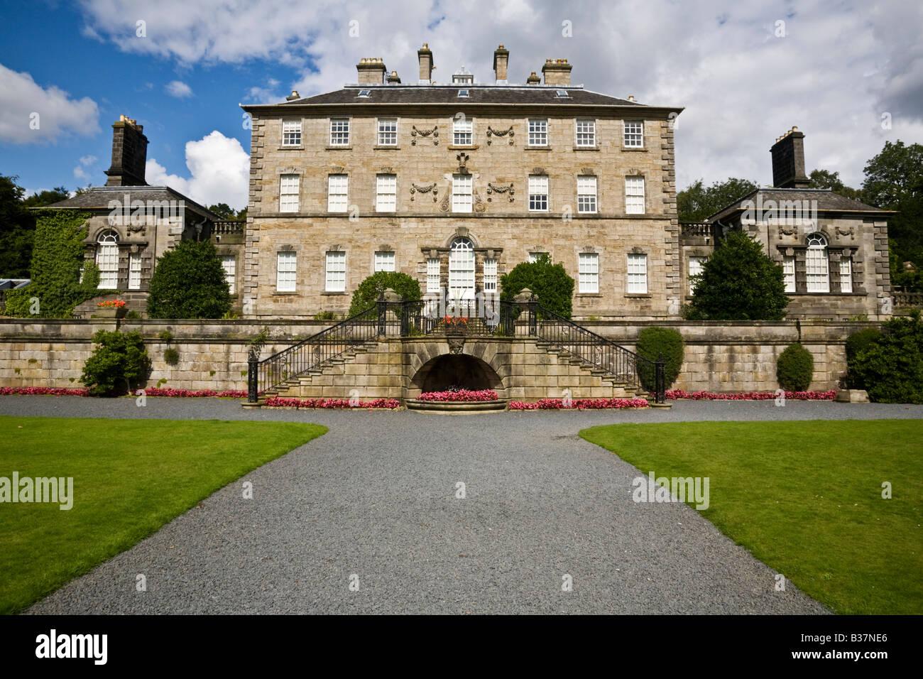 Pollok House, Pollok Park, Glasgow, Scotland. - Stock Image
