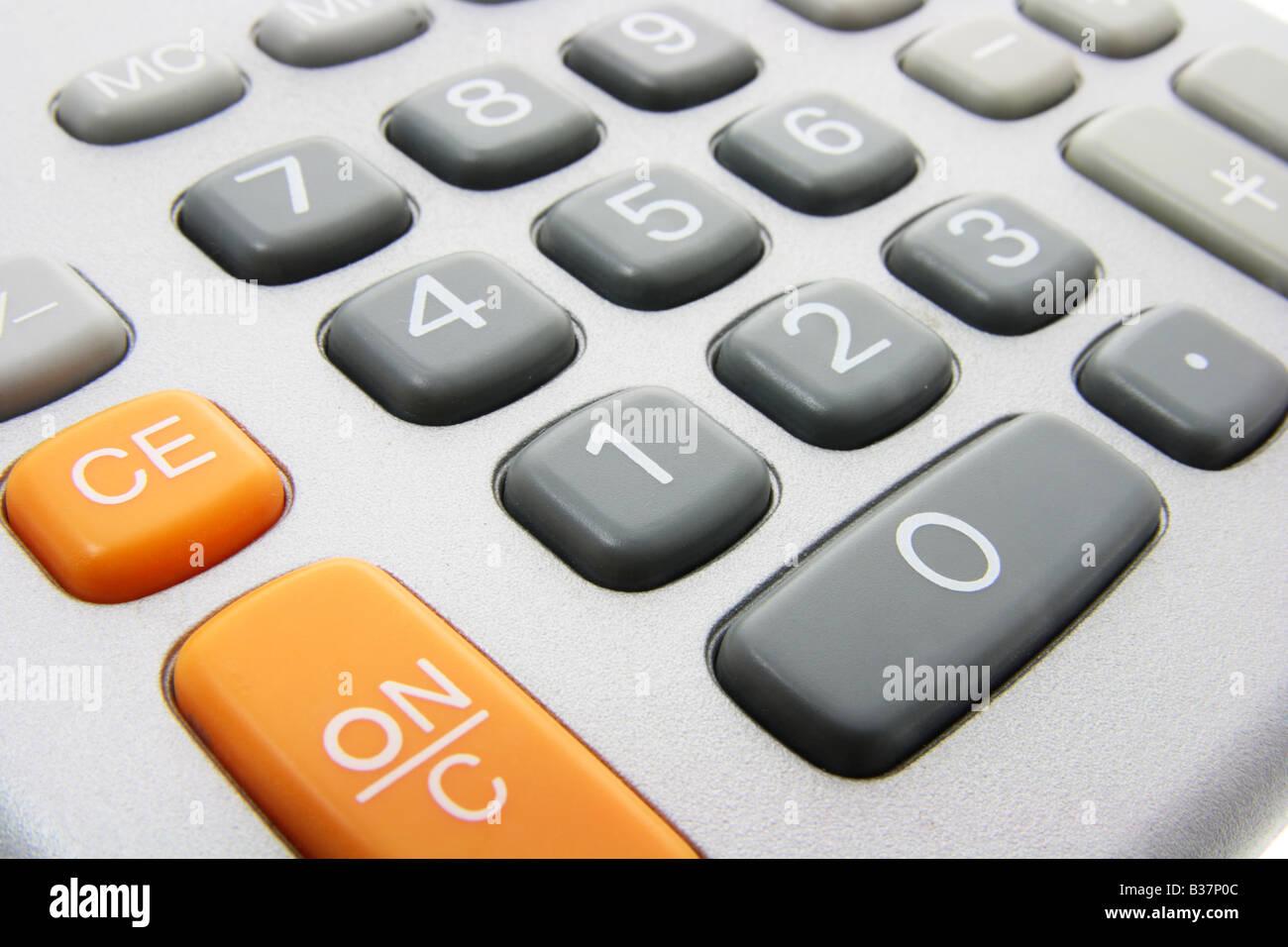 Calculator Keys - Stock Image