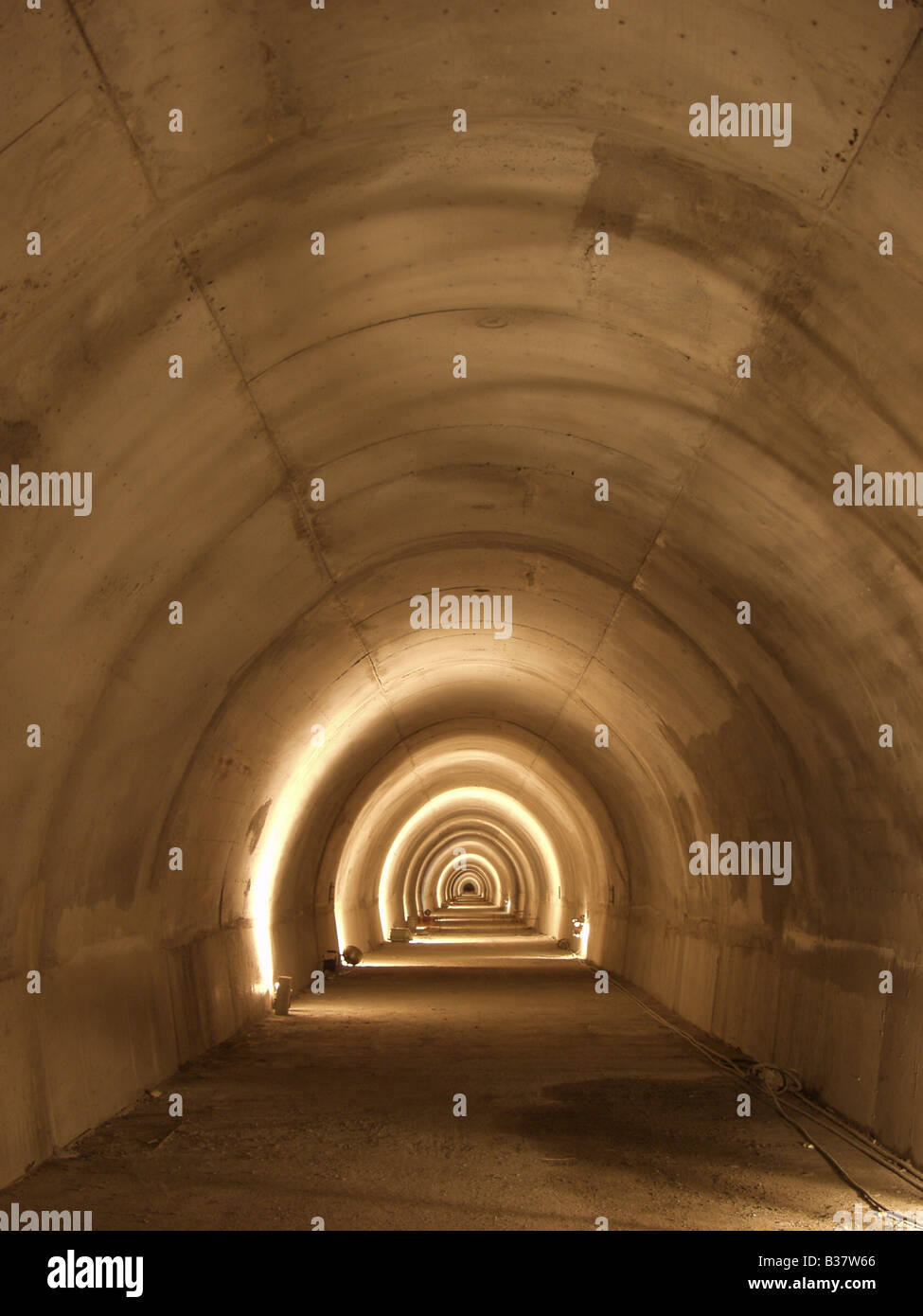 Tunnel - Stock Image