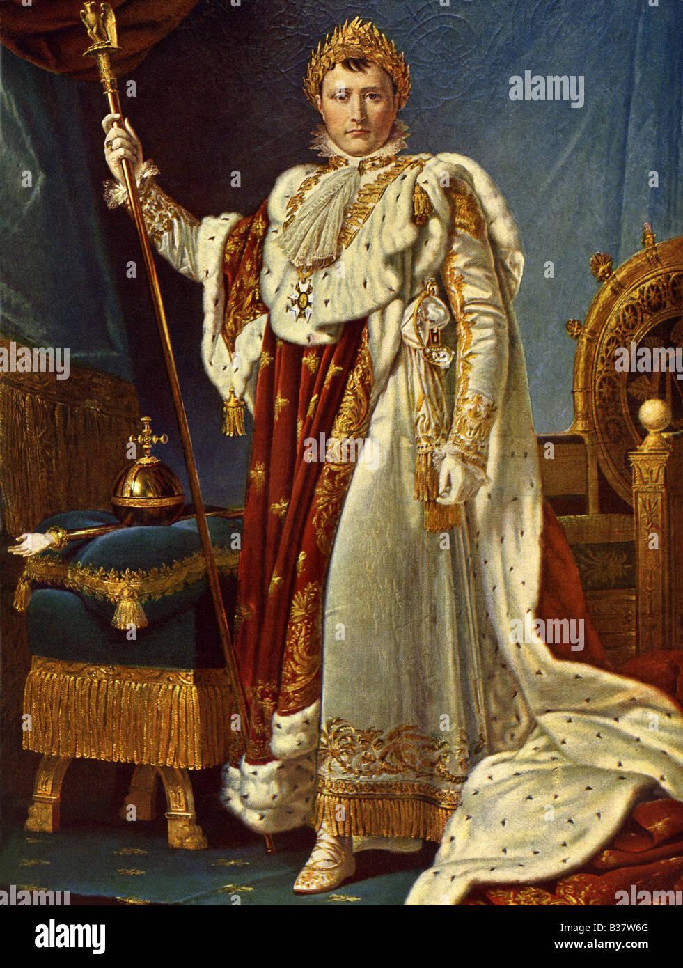 Napoleon by Gerard - Stock Image