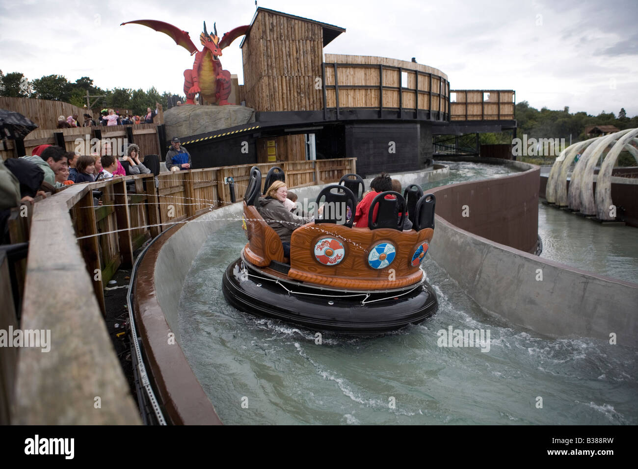 Pic Shows a ride at Legoland in Windsor Stock Photo