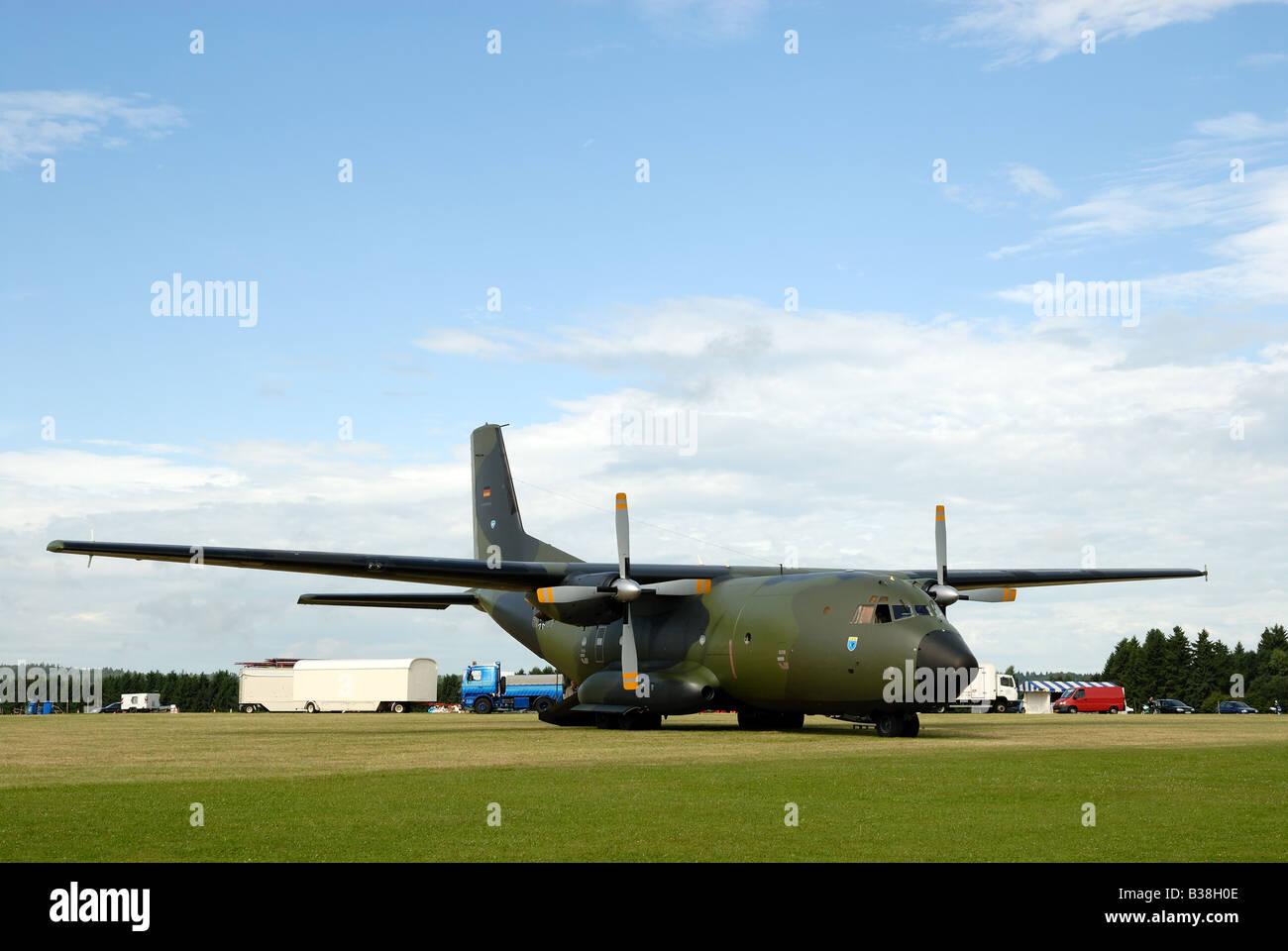 German military transport aircraft Transall C-160 - Stock Image