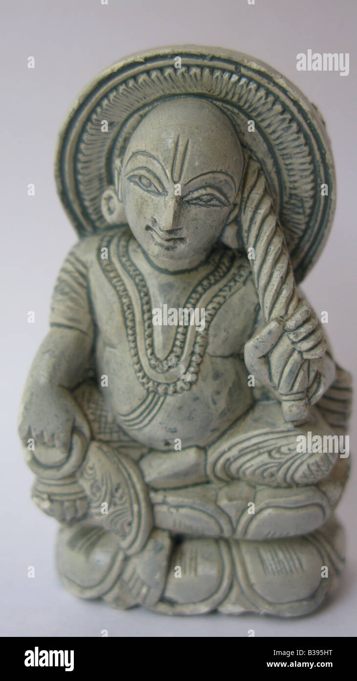 This is Vamana avatar of Lord Vishnu, first avatar of Lord Vishnu which appears with a completely human form. - Stock Image