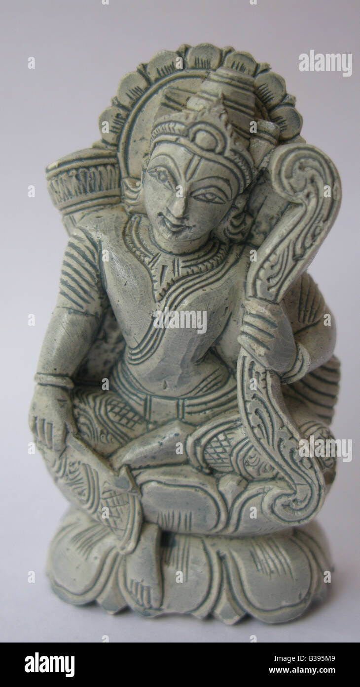 Sree Rama avatar of Lord Vishnu, one of the ten avatars of Vishnu that appeared in the Treta Yuga. - Stock Image