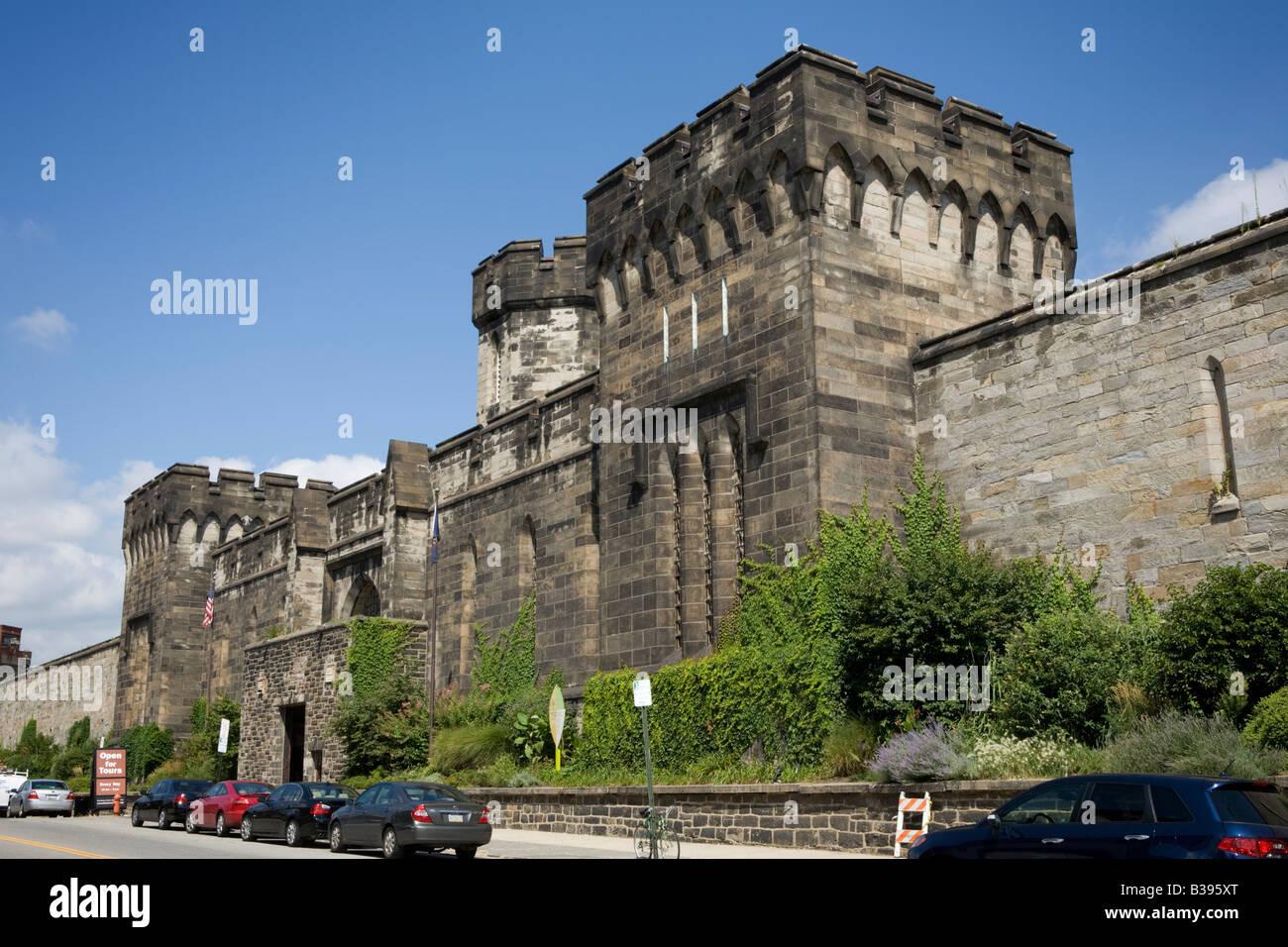 Eastern State Penitentiary prison Philadelphia Pennsylvania - Stock Image