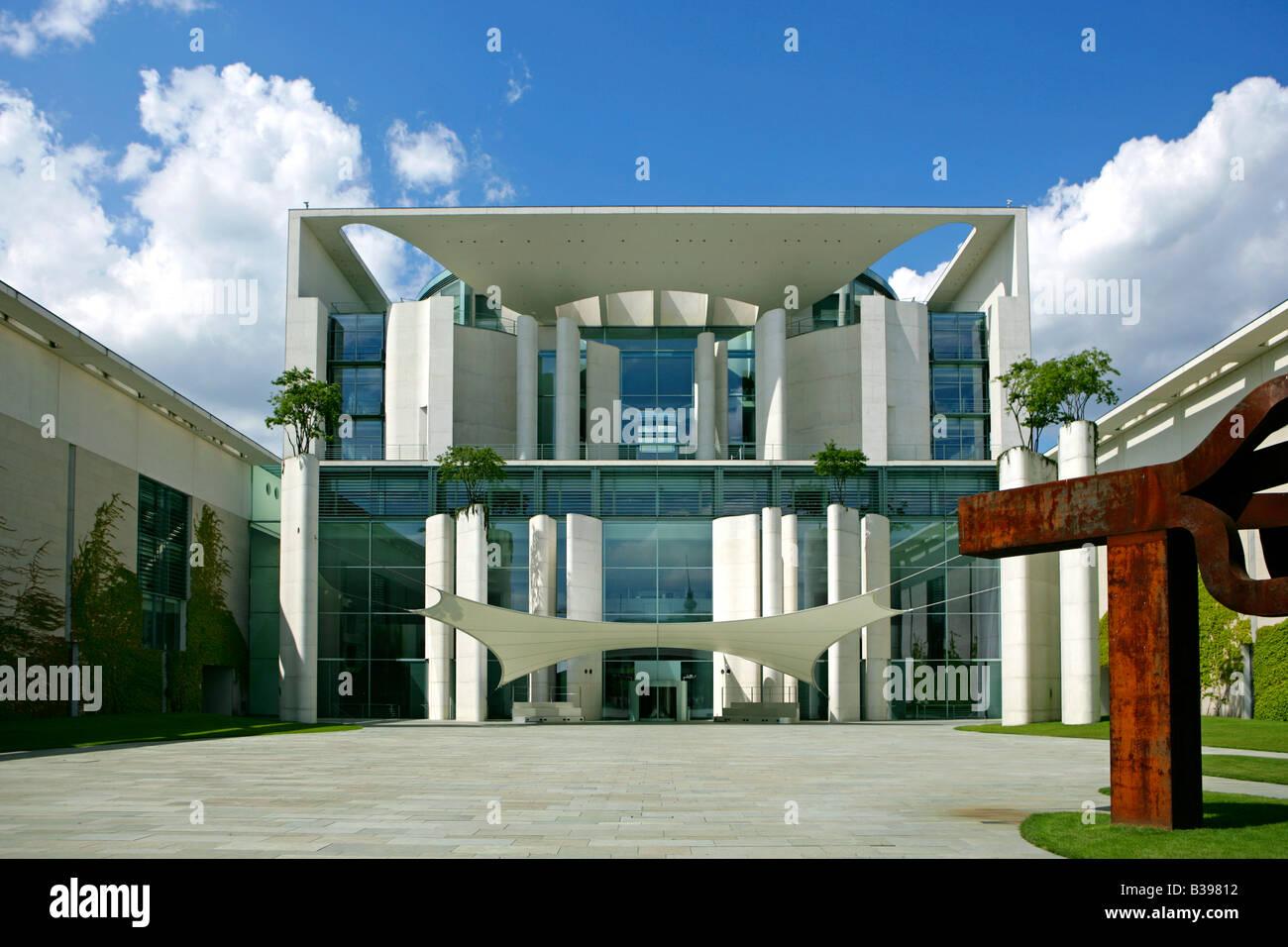 Deutschland, Germany, Berlin das neue Kanzleramt, The German Chancellery - Stock Image