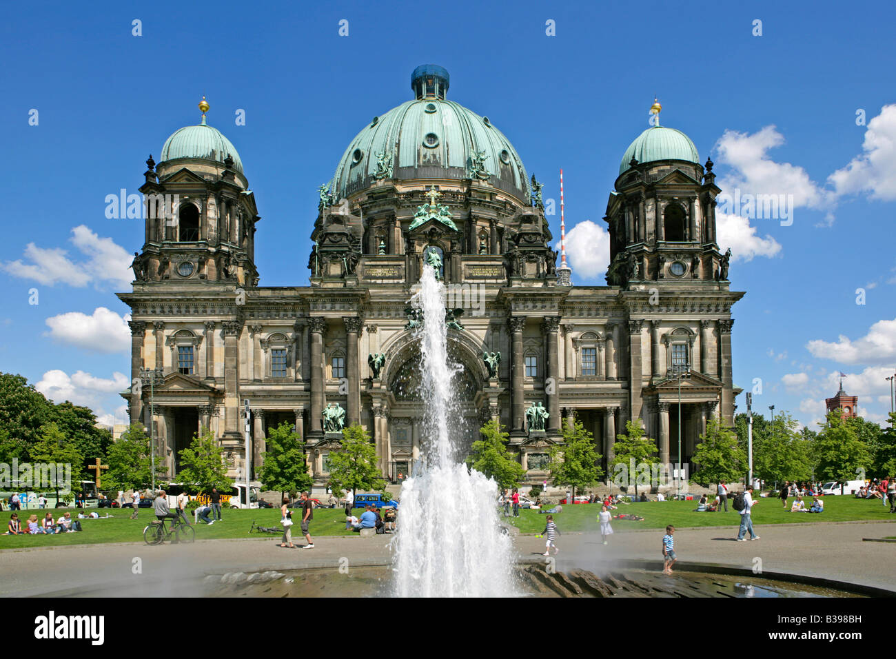 Deutschland, Berlin, Berliner Dom, Germany, Berlin Cathedral - Stock Image