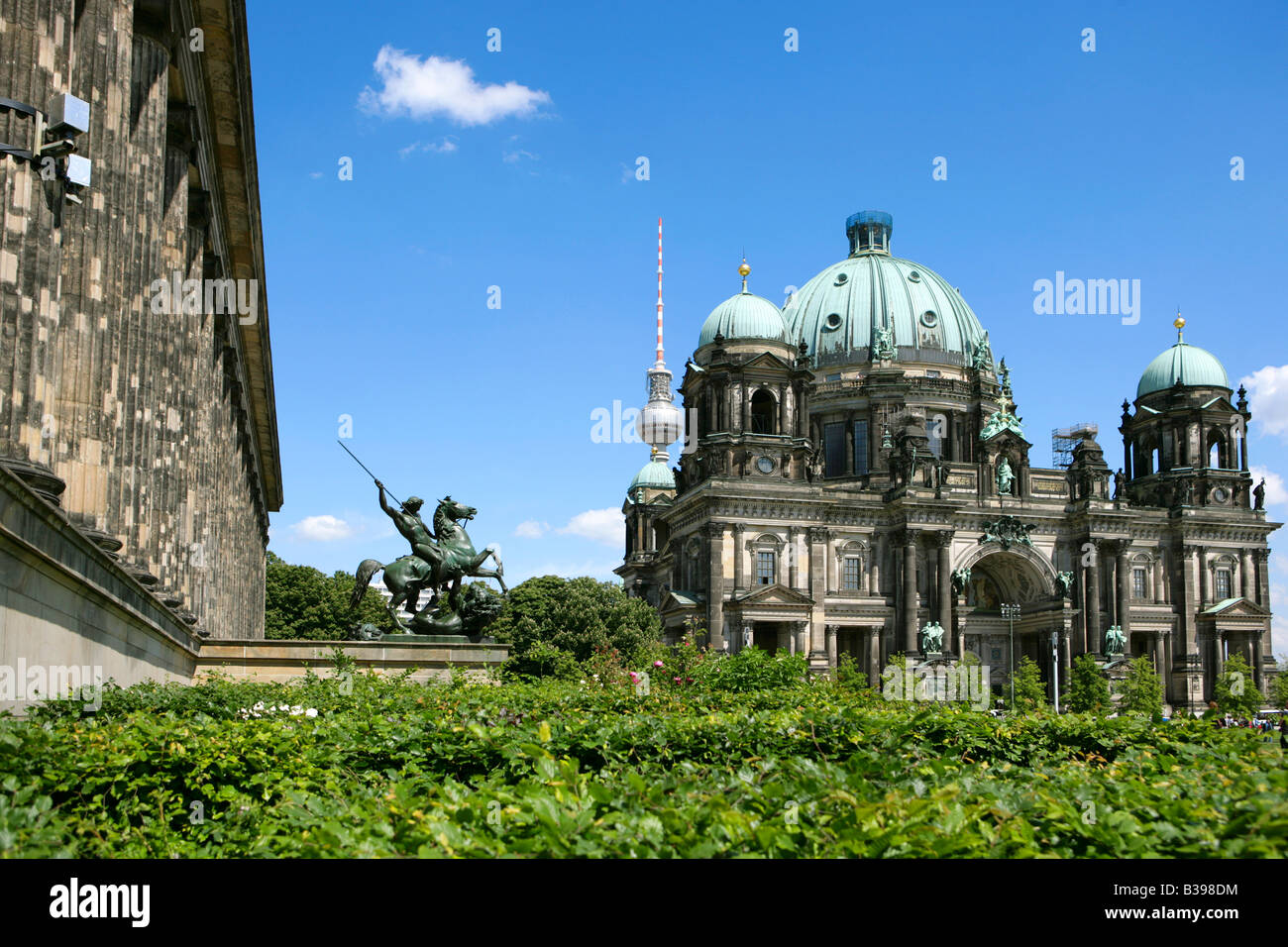 Deutschland, Berlin altes Museum und Dom, Germany the old Museum and Cathedral - Stock Image