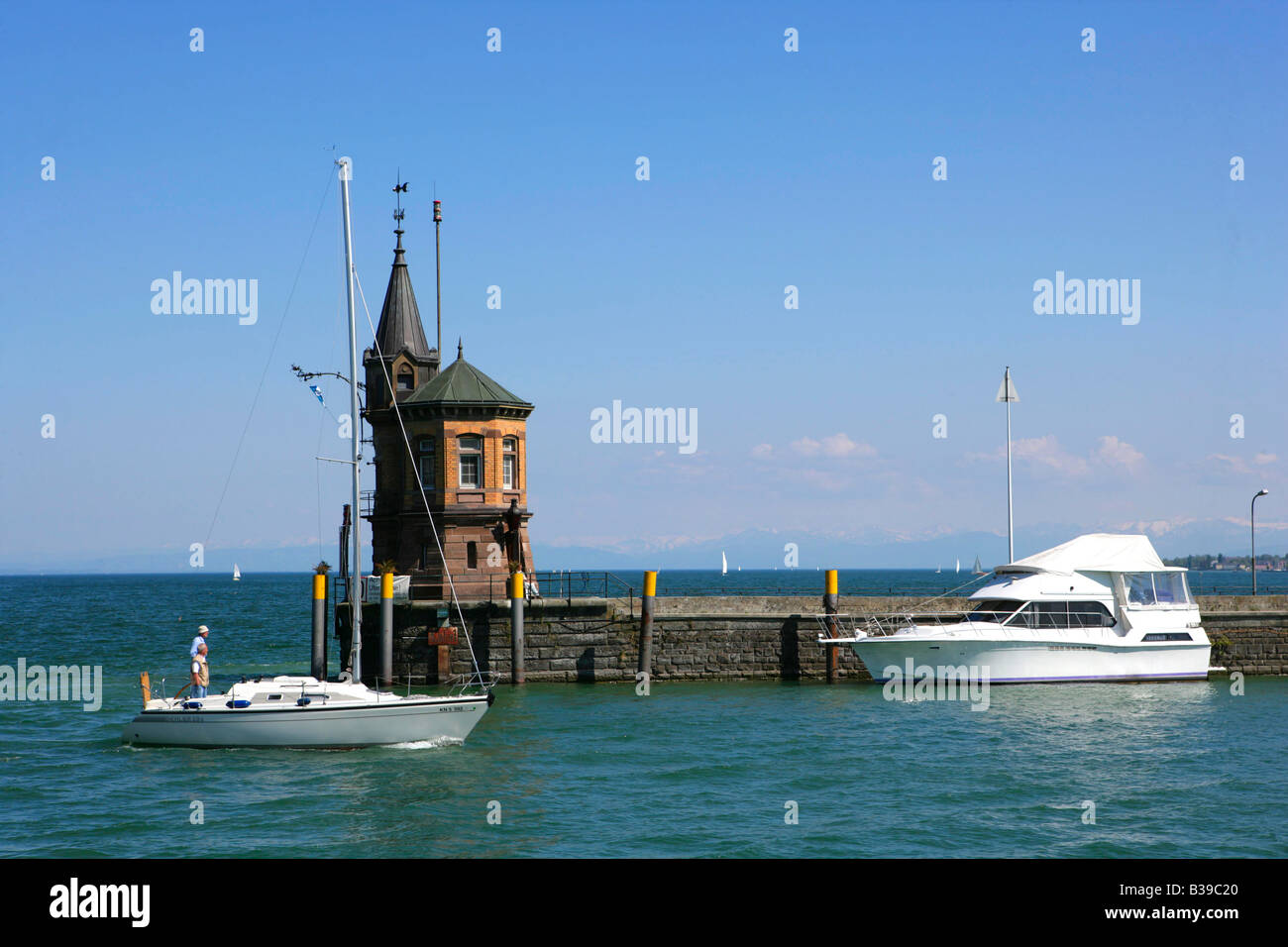 Deutschland, Konstanz am Bodensee, Germany Constance at the lake constance Stock Photo