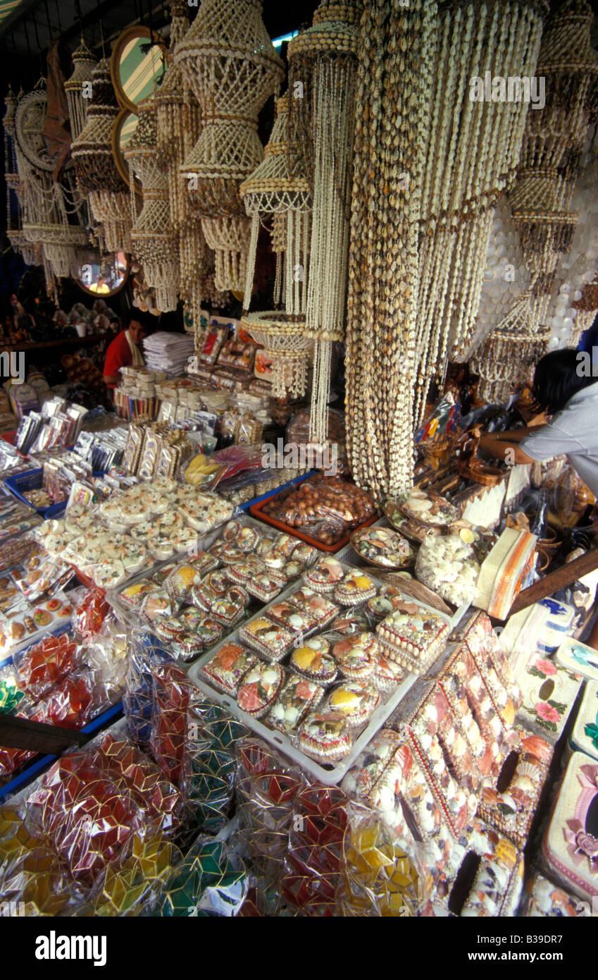 Shell Craft Stall Quiapo Manila Philippines Stock Photo 19262747