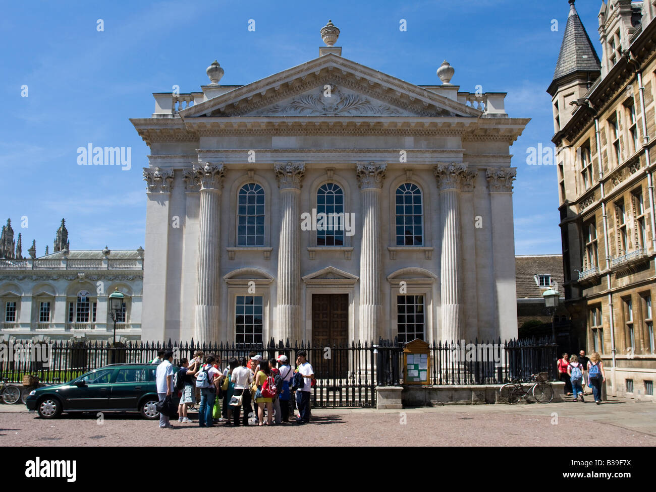 The Neo-classical Senate House University of Cambridge Cambridgeshire - Stock Image