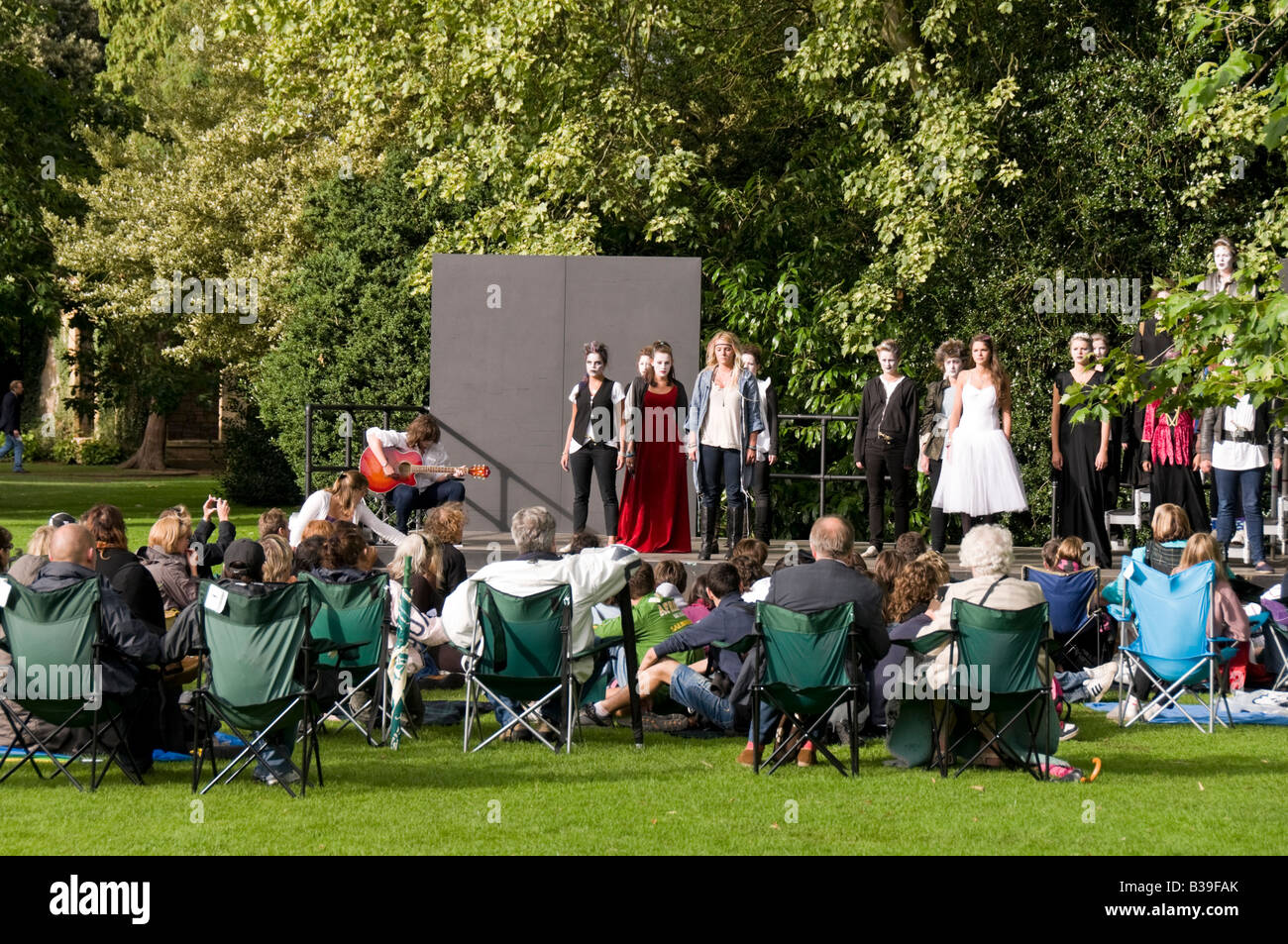 Openair youth theatre stratford-upon-avon shakespeare country - Stock Image