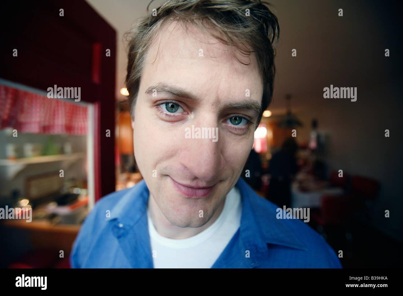 Man, thirties - Stock Image