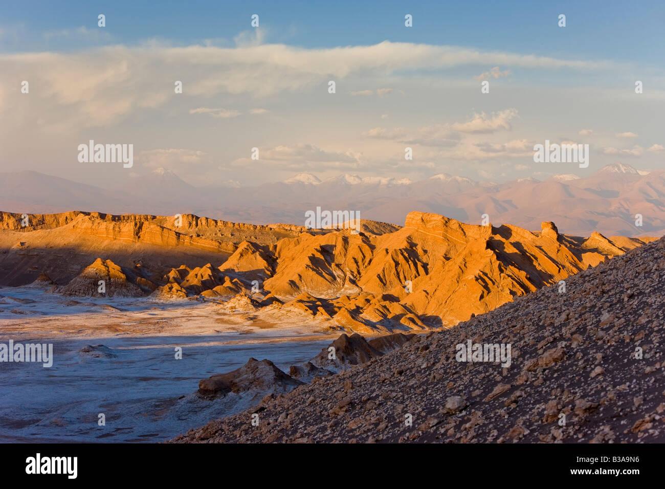 Chile, Norte Grande, Atacama desert, Valle de la Luna / Valley of the Moon - Stock Image