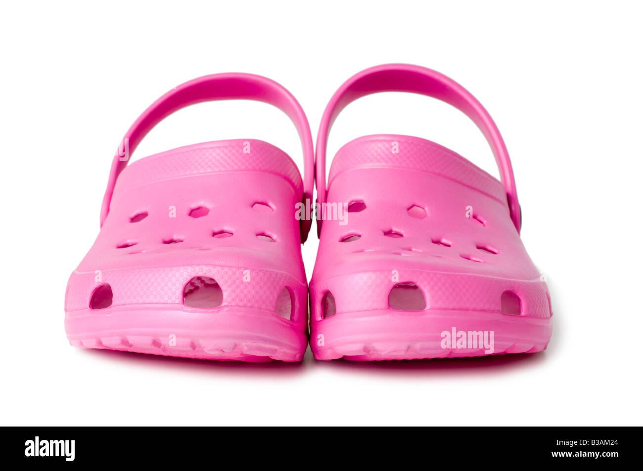 b4470ac1b2cf0 Pink Crocs Stock Photos   Pink Crocs Stock Images - Alamy