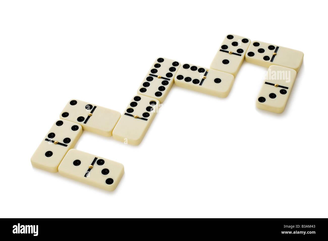 Dominoes Game Stock Photo 19289651 Alamy