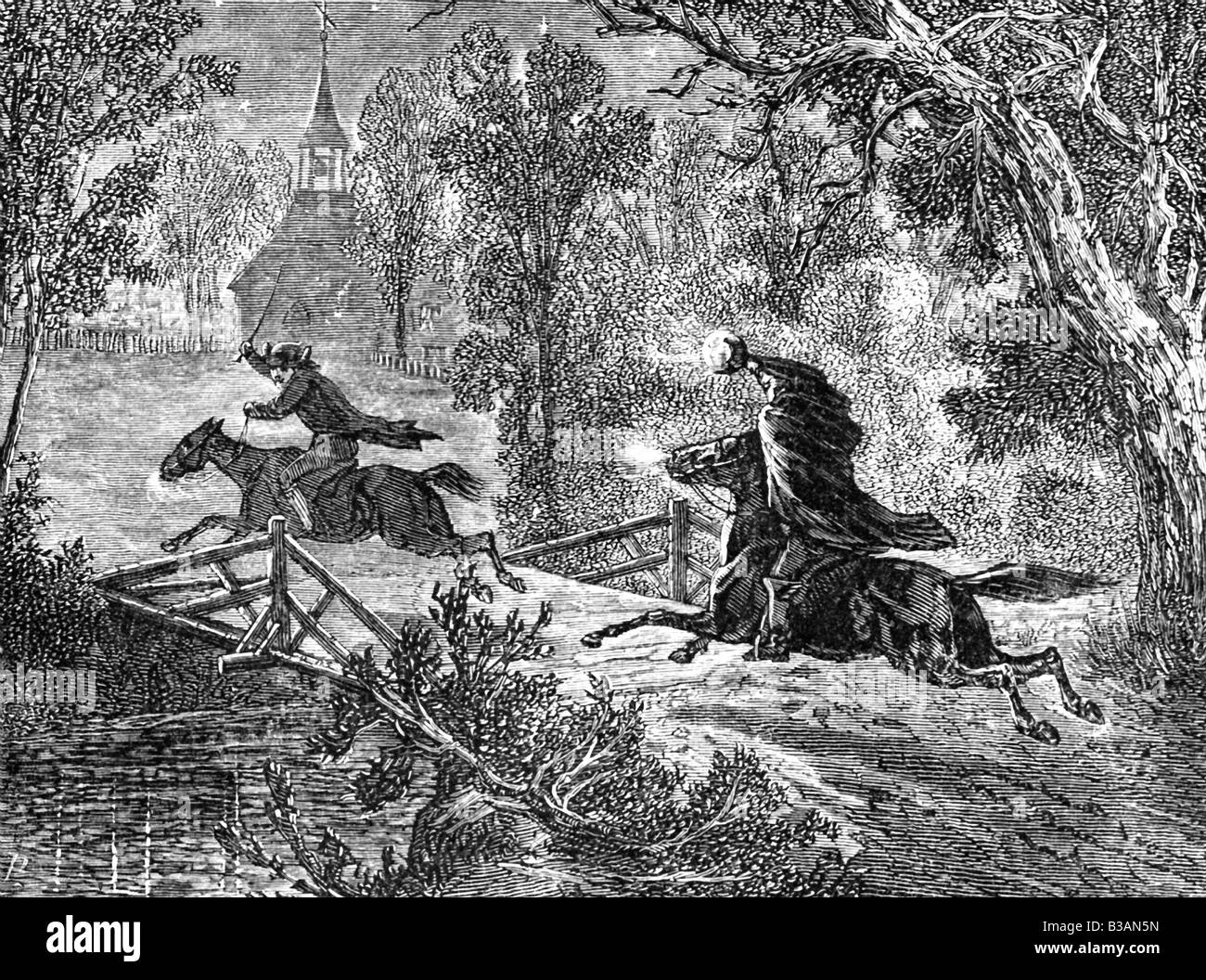 Headless Horseman High Resolution Stock Photography And Images Alamy