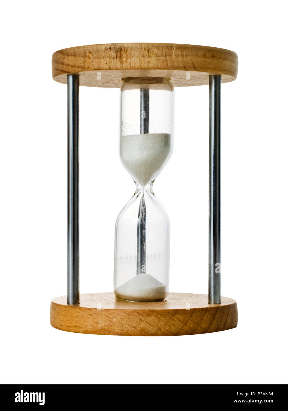 3 Hour Cut Out Stock Images Pictures Alamy Three Timer Hourglass Sand Glass Image