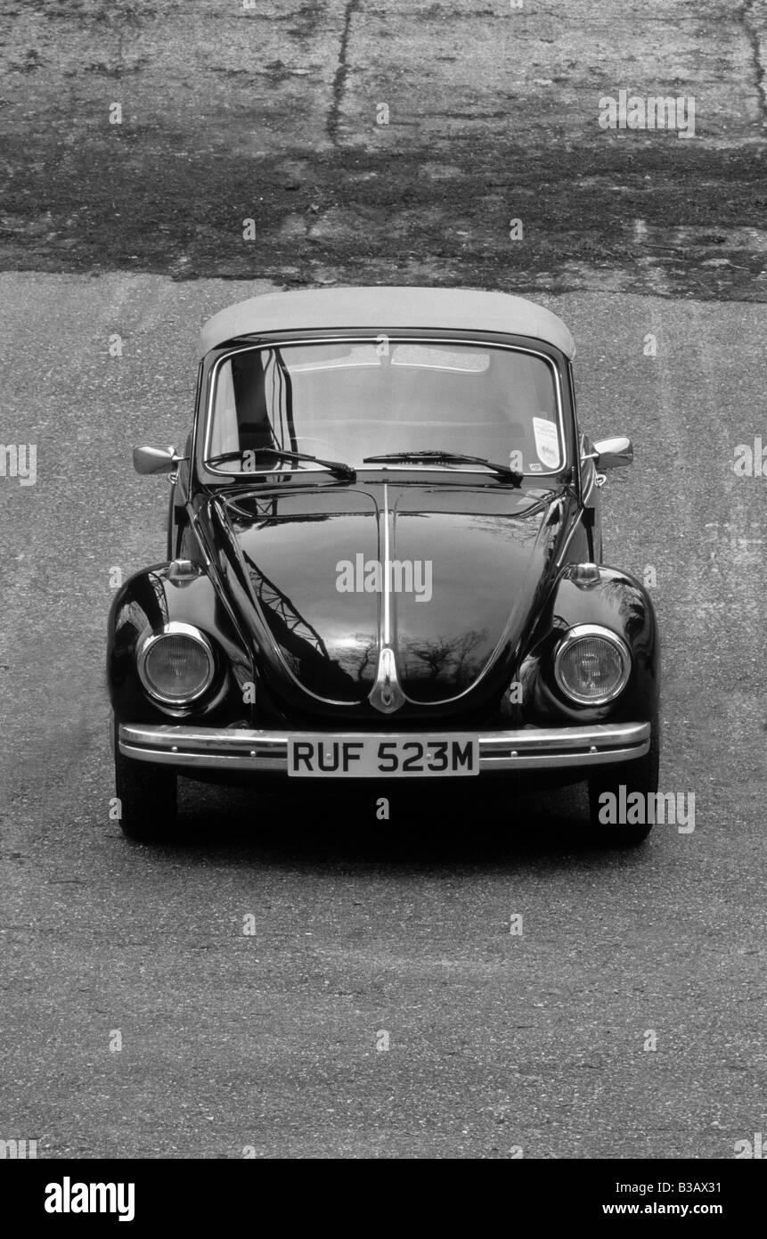 Volkswagen Beetle Cabriolet. - Stock Image