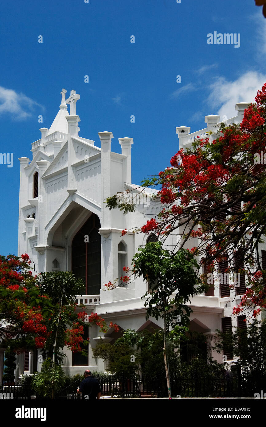 A church in Key West, Florida USA - Stock Image