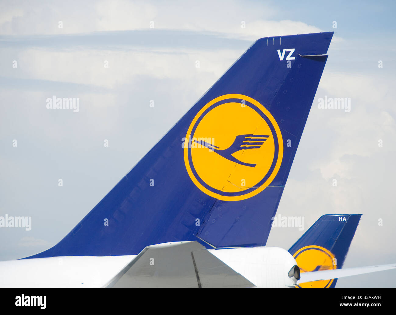 Lufthansa airlines - Stock Image
