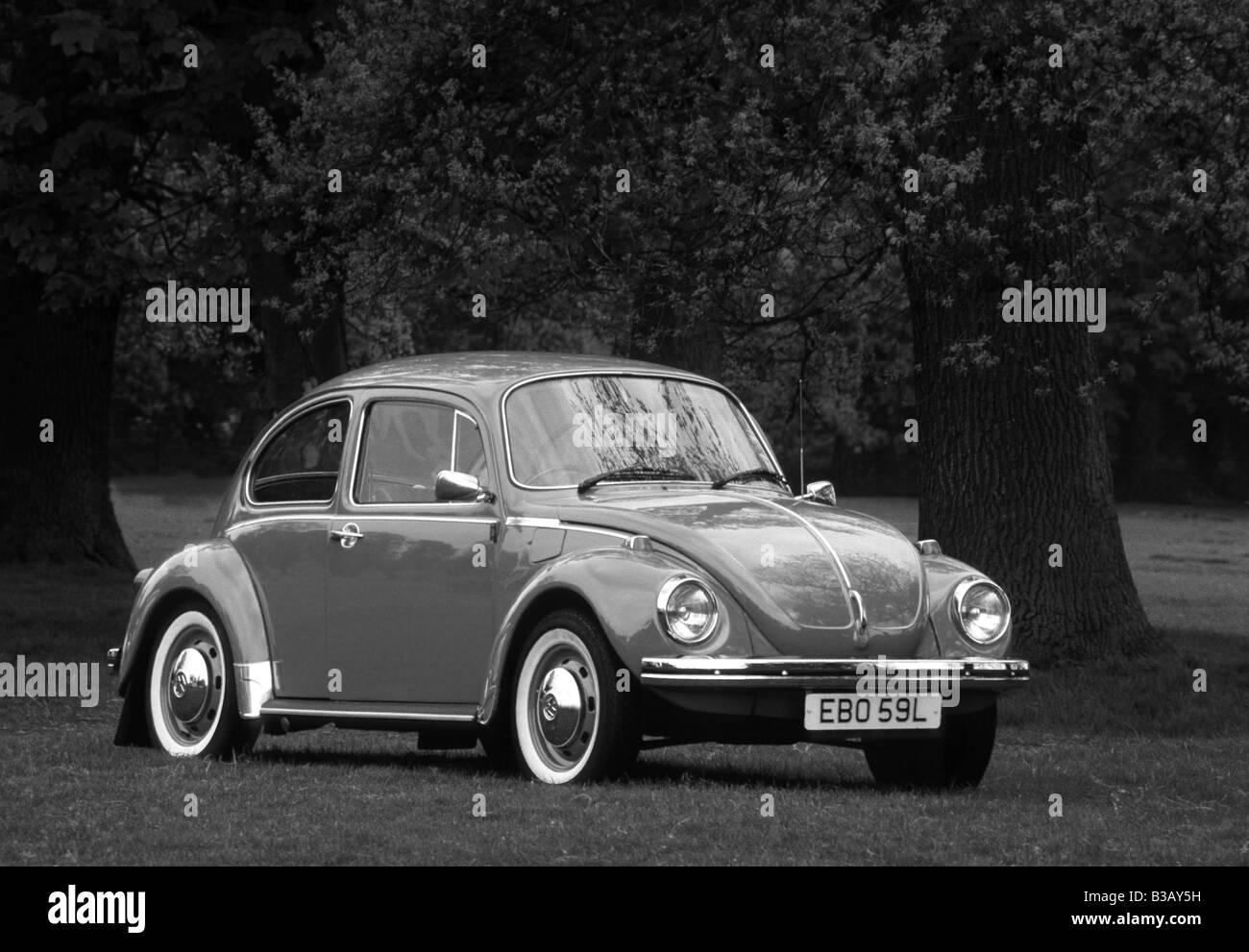 Volkswagen Beetle 1303 S of 1972. - Stock Image