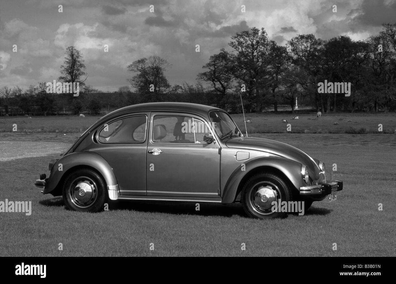 Volkswagen Beetle 1200 of 1983. - Stock Image