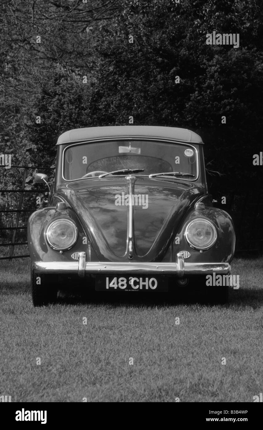 Volkswagen Beetle Cabriolet 1300 of 1966. - Stock Image