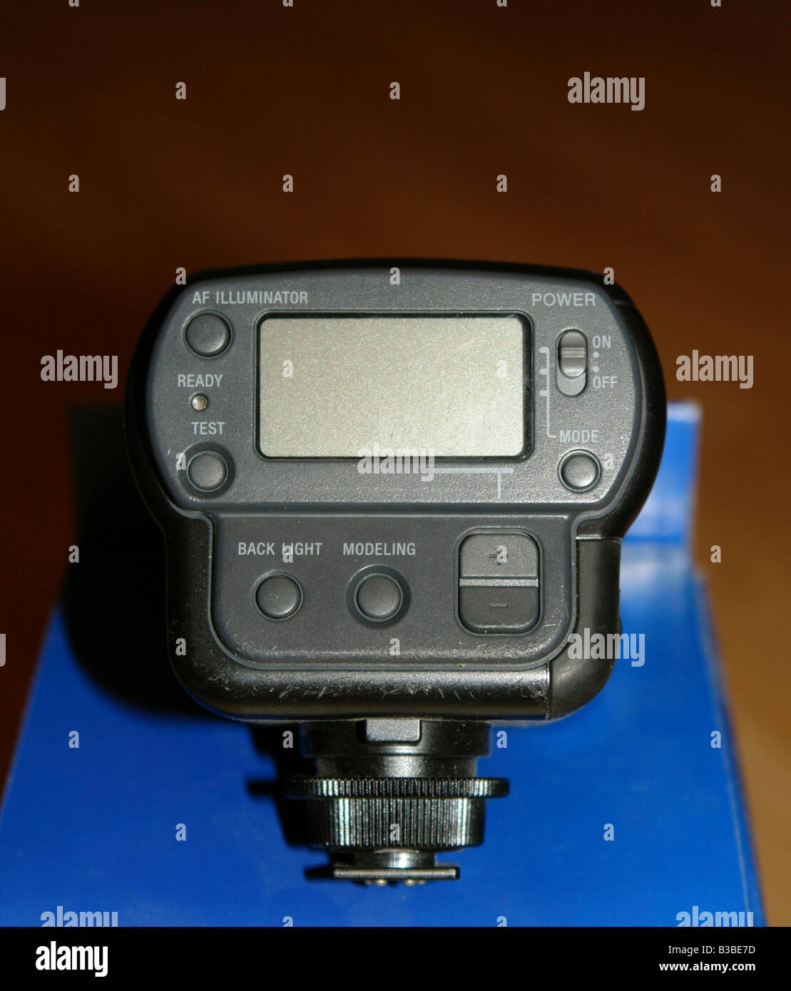 Sony Digital Camera HVL-F32X Flashgun South Wales GB UK 2008 - Stock Image