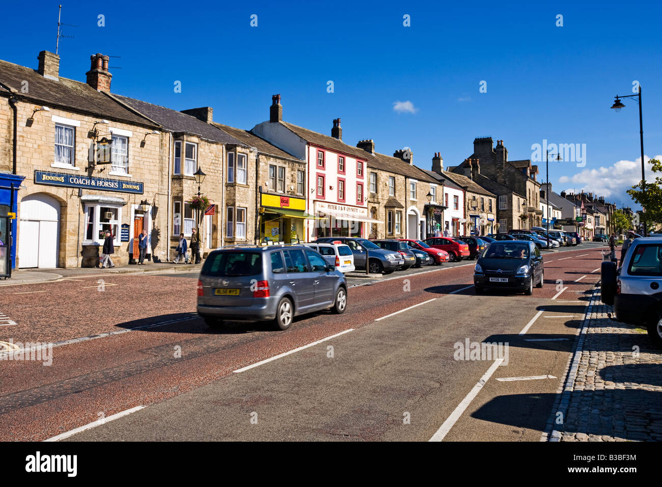 Galgate in Barnard Castle, County Durham, England, UK - Stock Image