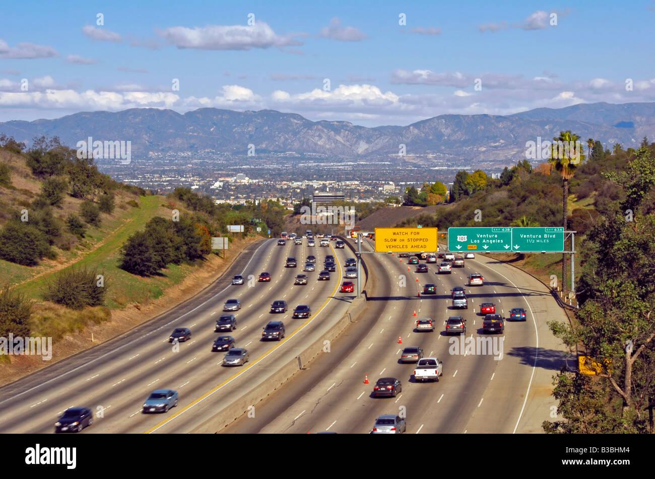 San Diego 405 Freeway Stock Photos & San Diego 405 Freeway