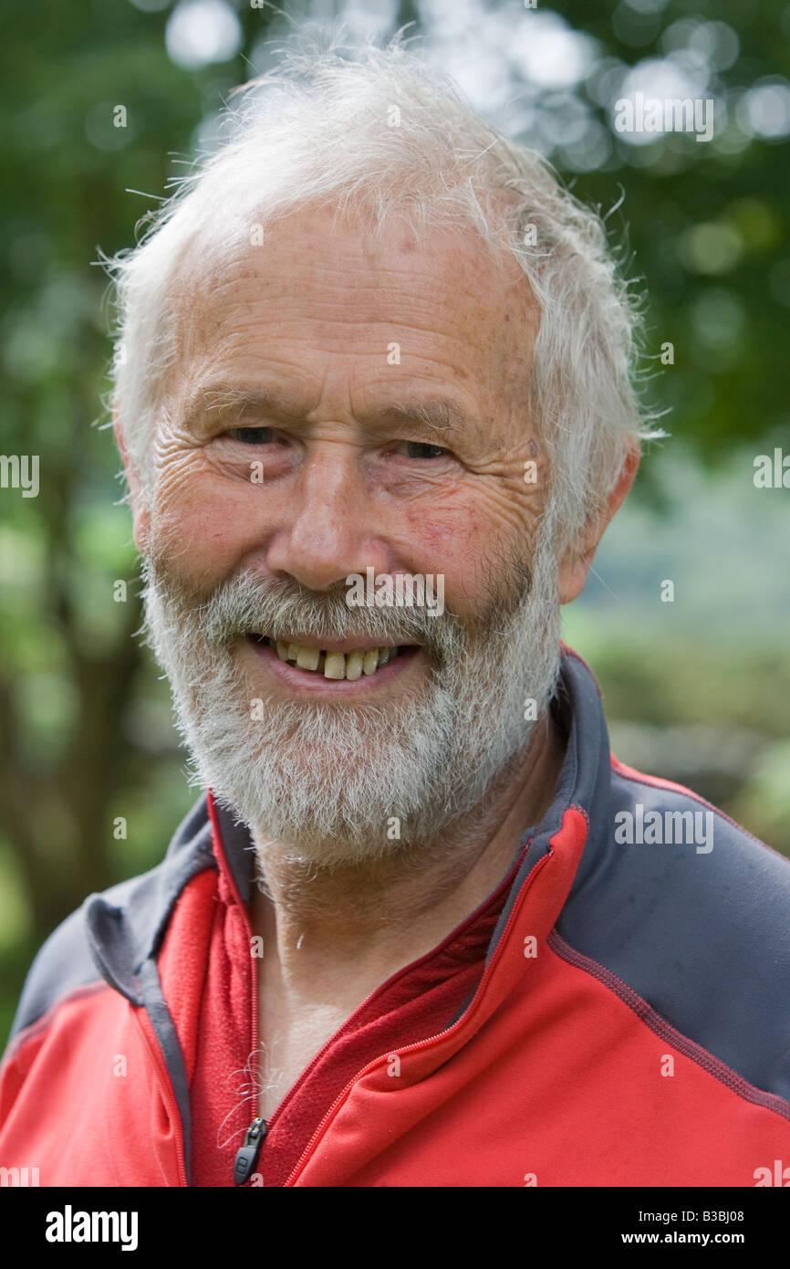 Sir Chris Bonington, British mountaineer - Stock Image