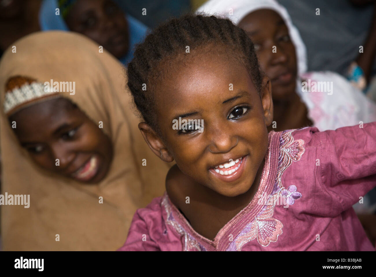 Child in the Tudun Murtala area of Kano Nigeria - Stock Image