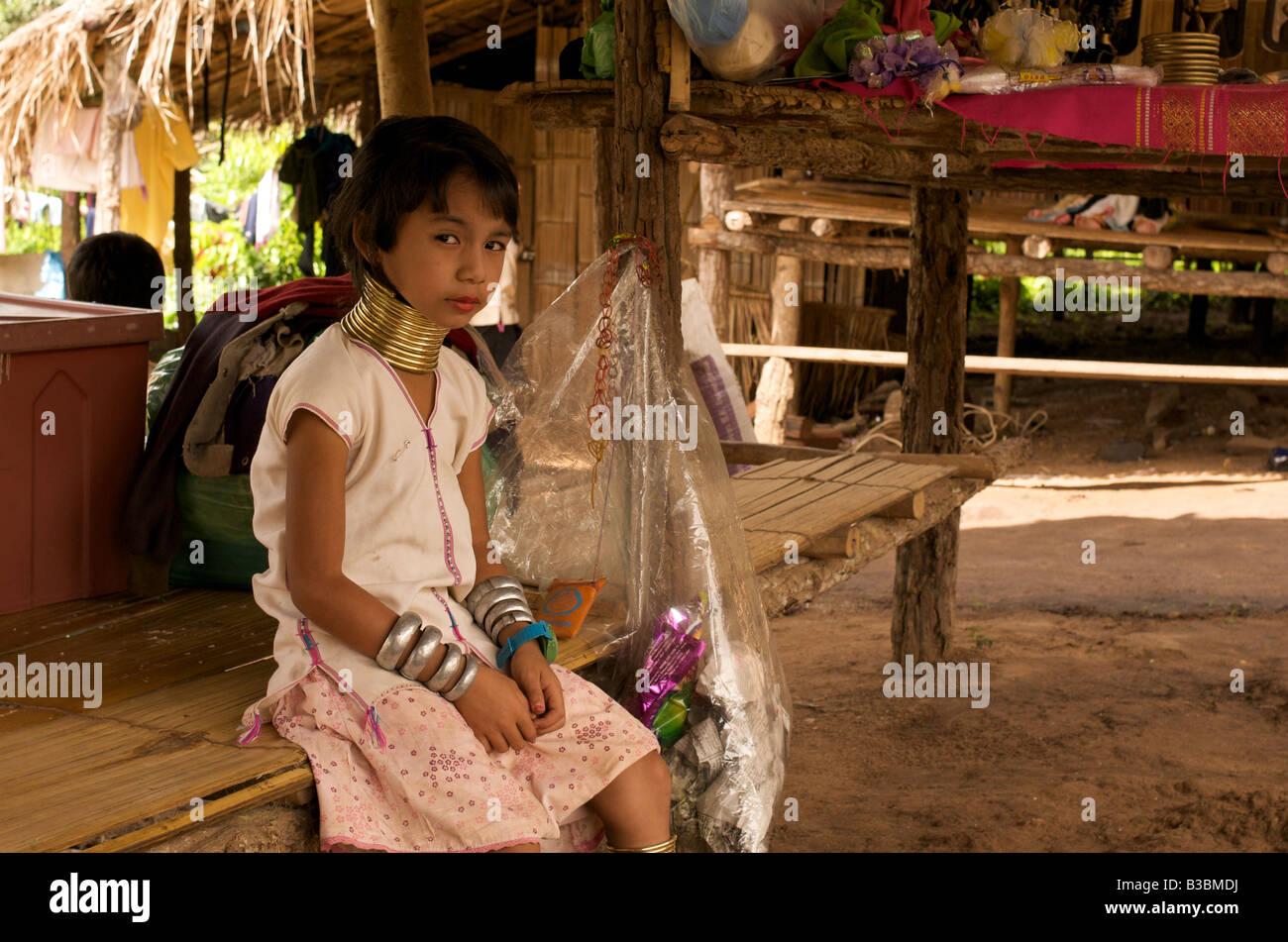 Bp necked girl photo