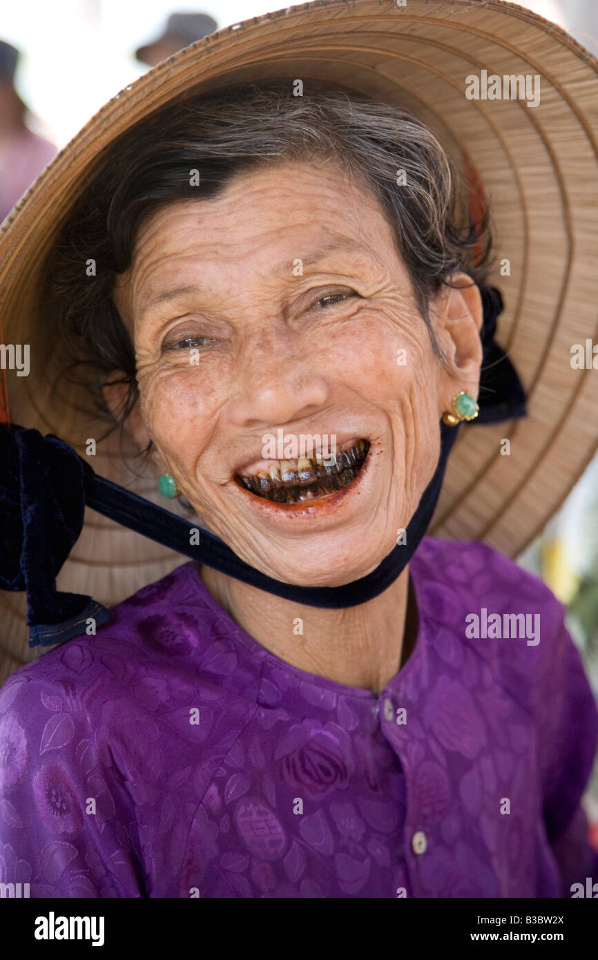 A Vietnamese woman with lots of personality - Stock Image