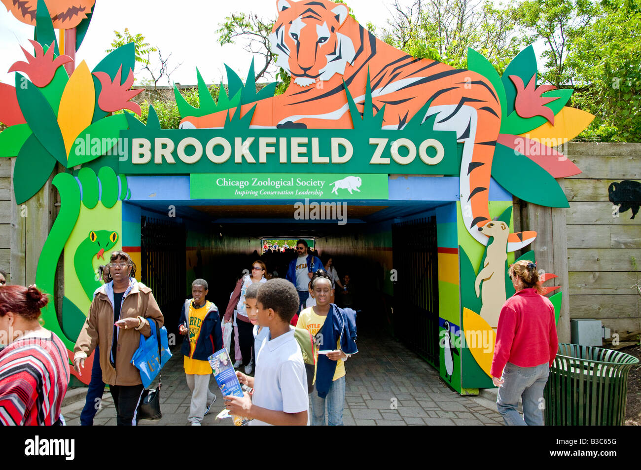 Zoo Entrance Address South Brookfield