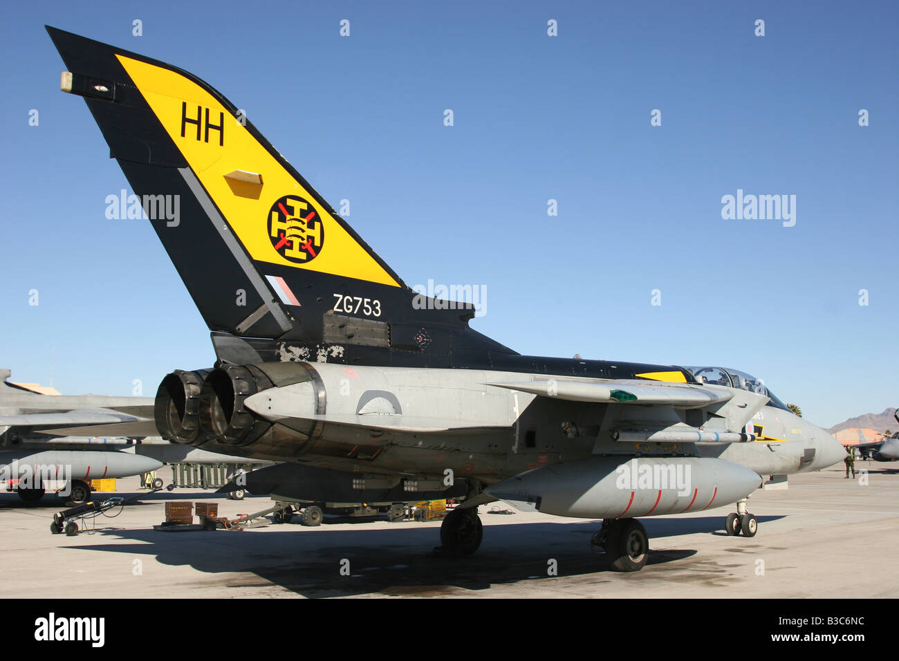 RAF Tornado F3 of 111 F Sqn Stock Photo
