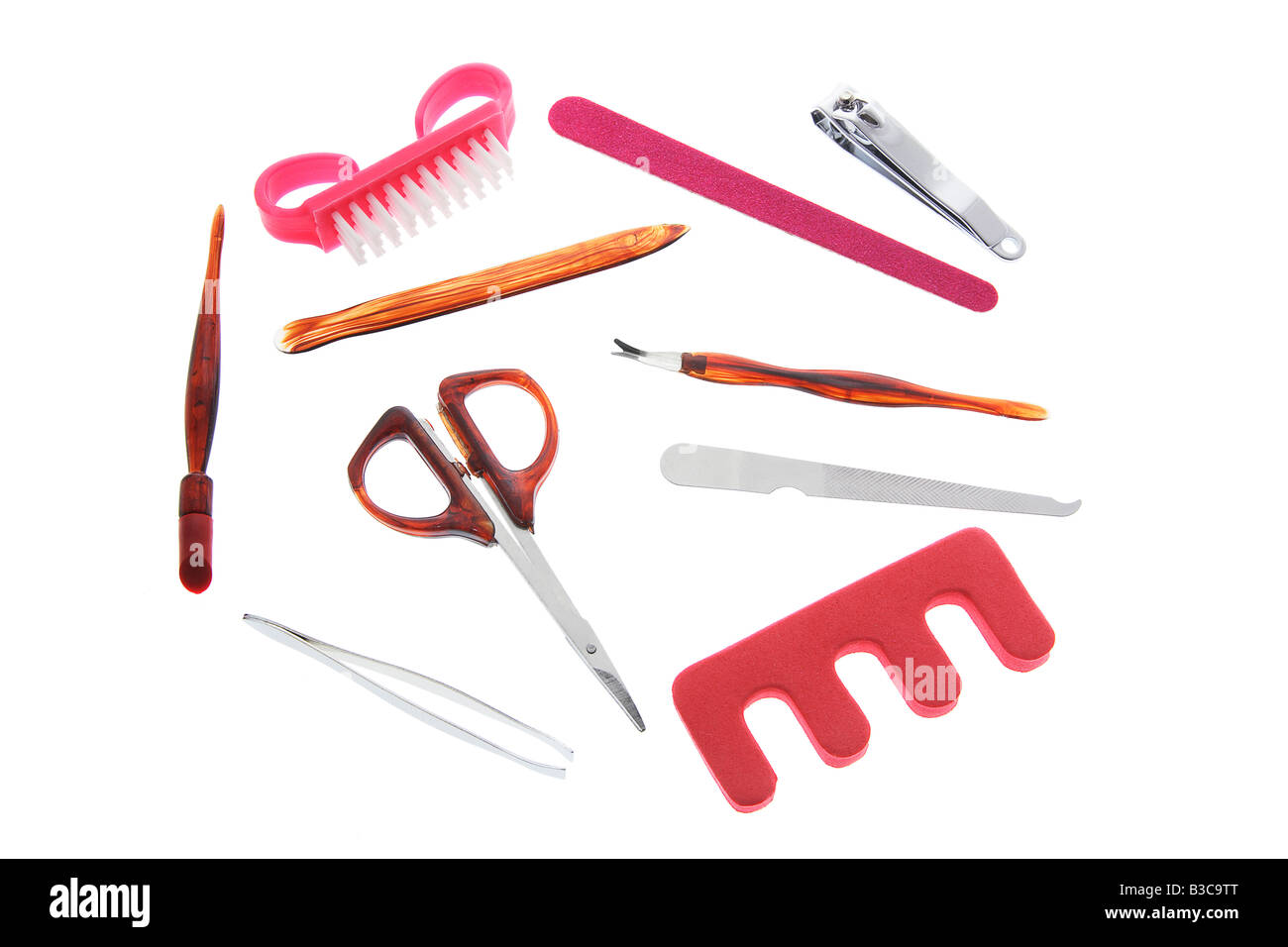 Manicure Items - Stock Image