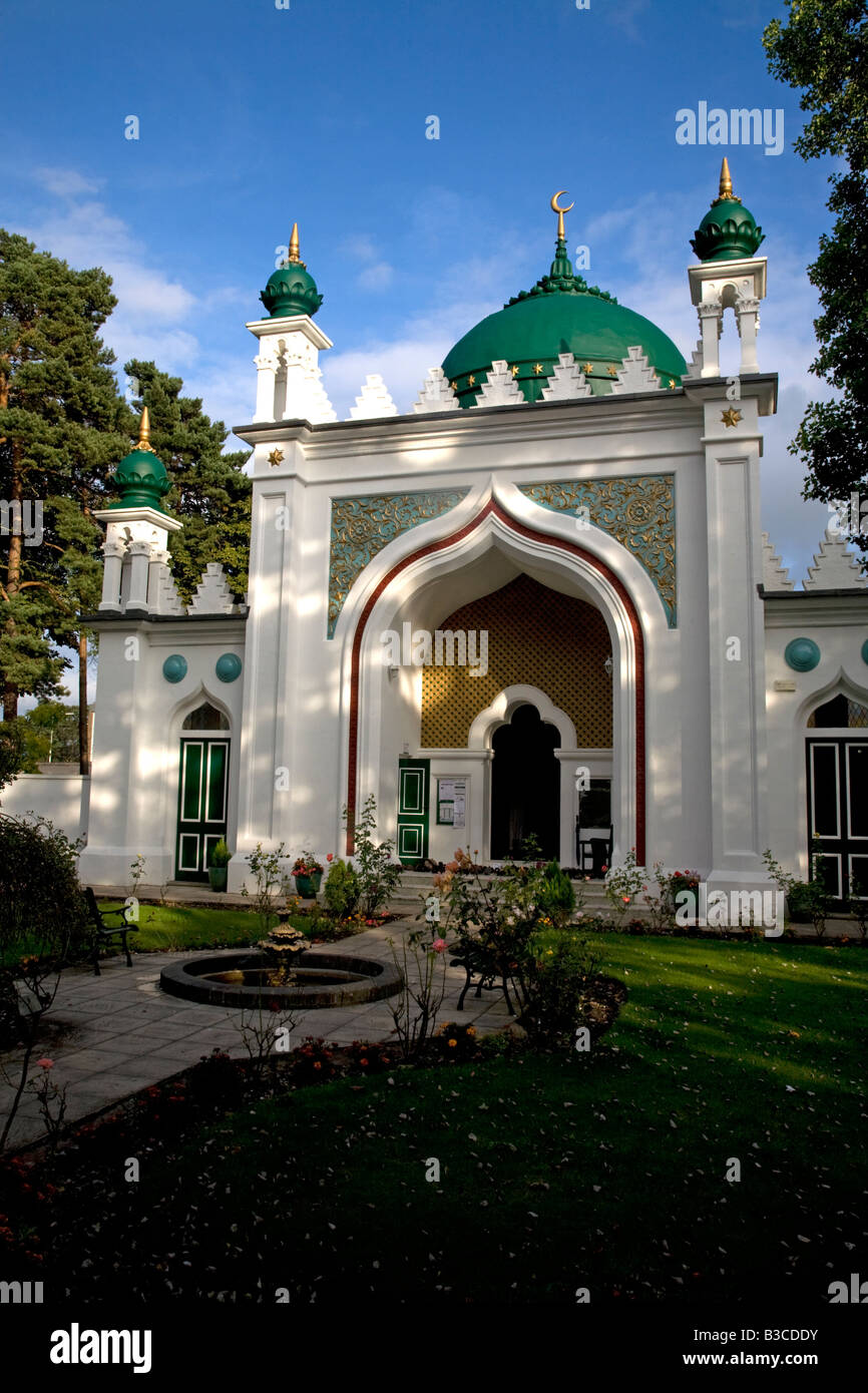 Shah Jahan Mosque Woking Surrey England Stock Photo