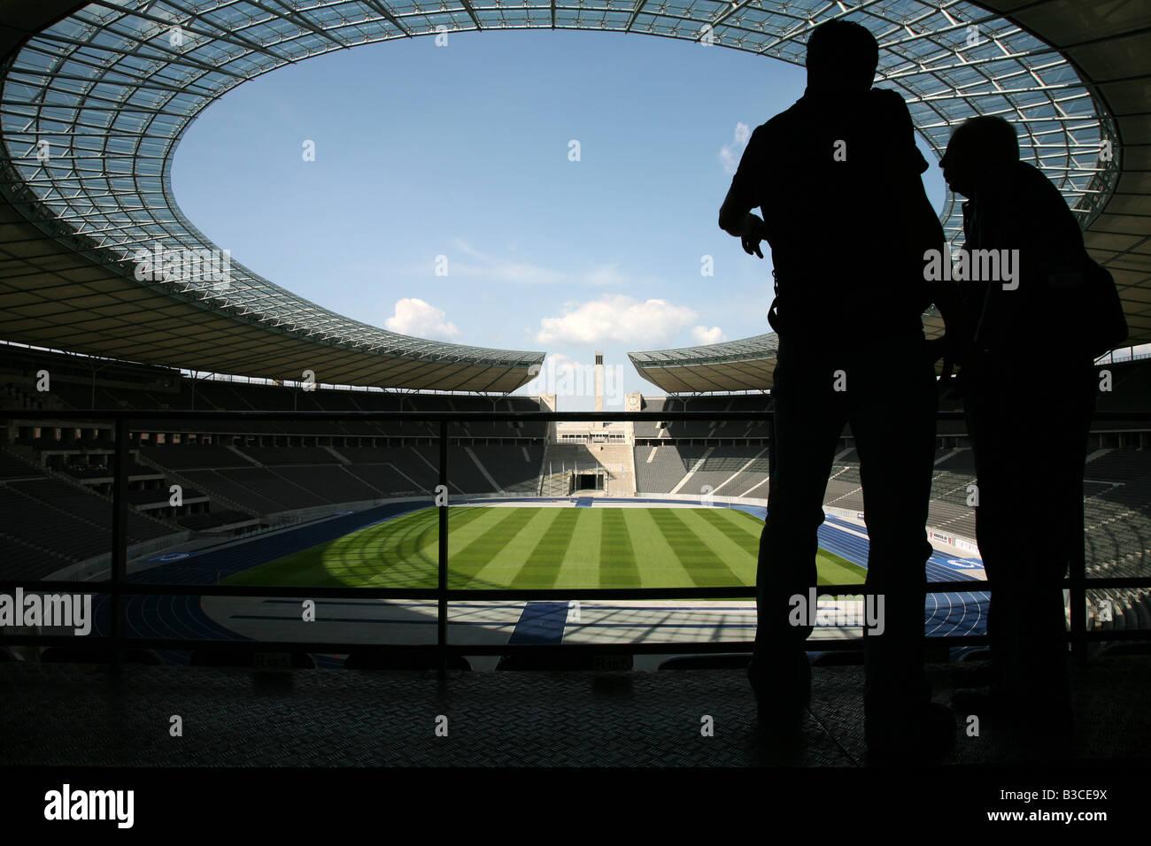 Olympia Stadium in Berlin, Germany Stock Photo