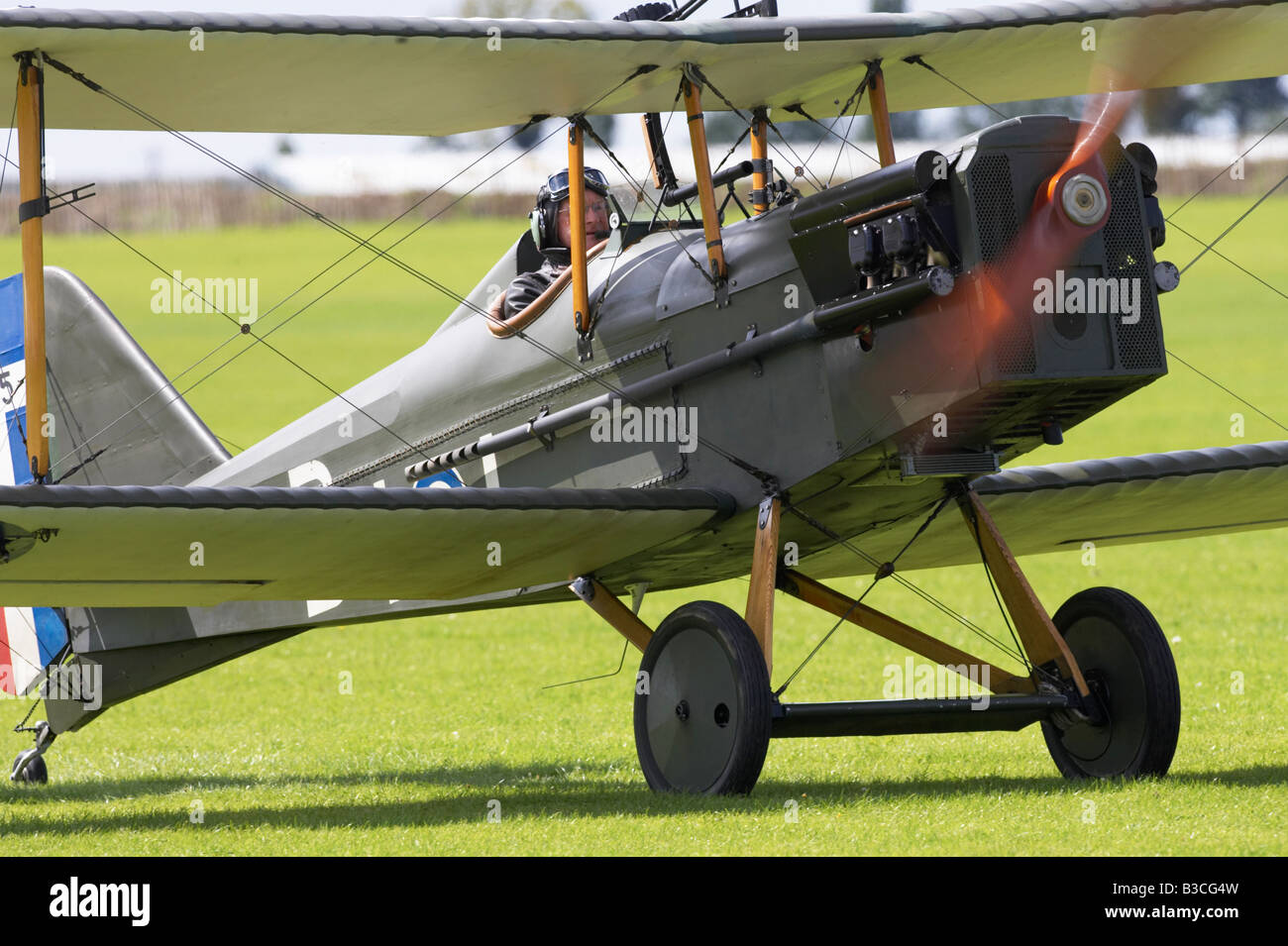Vintage WW I World War One aircraft - Stock Image