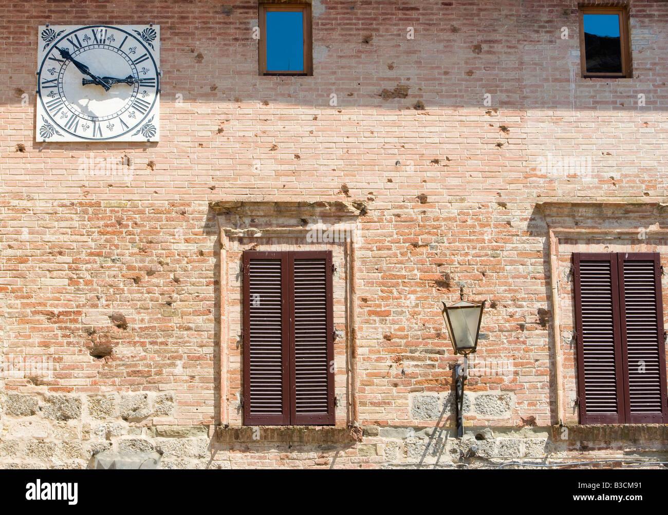 Casole d Elsa Tuscany Italy - Stock Image