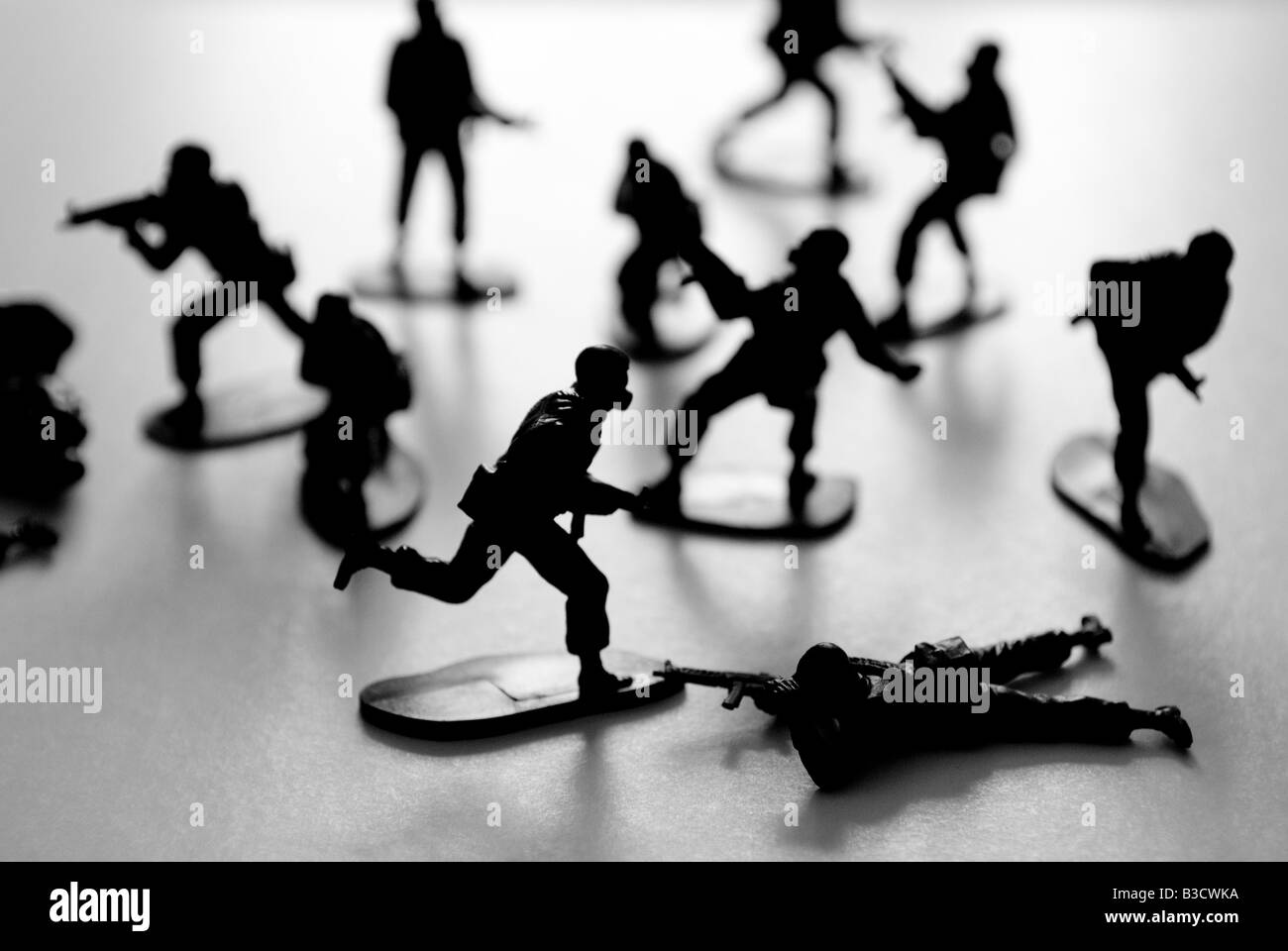 toy soldiers - Stock Image