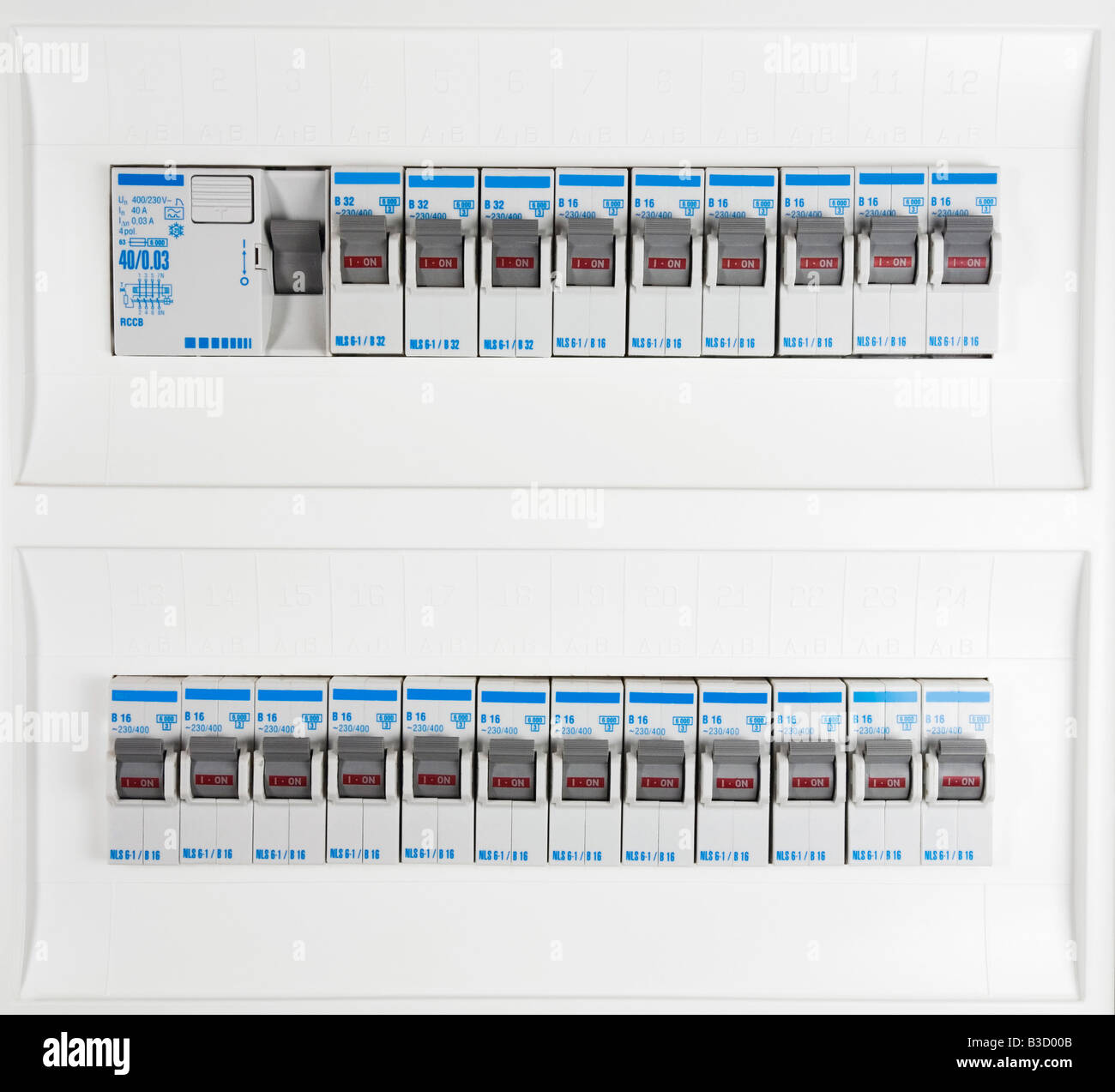 Fuse Box Home Stock Photos Images Alamy 1 Series Full Frame Image